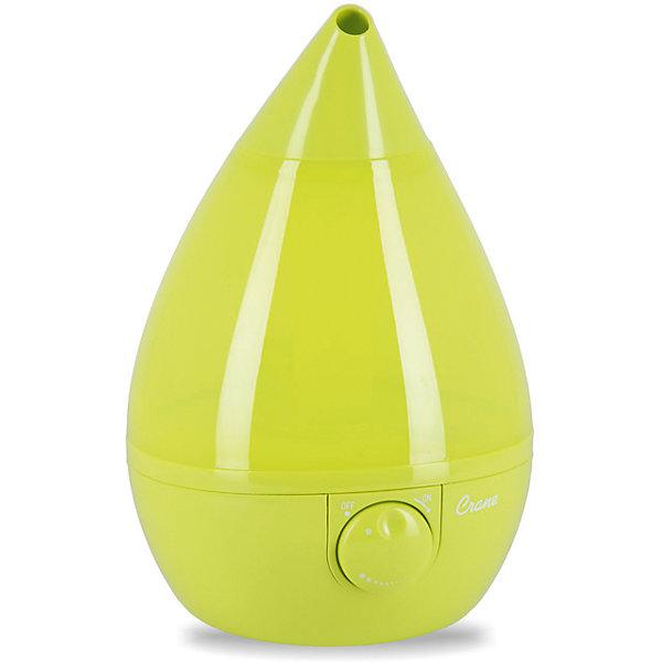Увлажнитель воздуха ультразвуковой КАПЛЯ Crane, салатовыйУвлажнители воздуха для детской комнаты<br>Дополнительная информация:<br><br>Площадь обслуживания до: 23 кв. м<br>Производительность по увлажнению до: 8,7 л/сутки<br>Регулировка интенсивности испарения: есть<br>Объем бака для воды: 3,3 л<br>Автоматическое отключение: есть<br>Уровень шума: до 37 дБ<br>Потребление электроэнергии: 19 Вт<br>Напряжение в сети: 100-240В ~ 50/60Гц<br>Материал: Пластик<br><br><br><br>Увлажнитель воздуха ультразвуковой КАПЛЯ Crane, салатовый можно купить в нашем магазине.<br><br>Ширина мм: 250<br>Глубина мм: 250<br>Высота мм: 345<br>Вес г: 2040<br>Цвет: зеленый<br>Возраст от месяцев: 0<br>Возраст до месяцев: 36<br>Пол: Унисекс<br>Возраст: Детский<br>SKU: 4659606