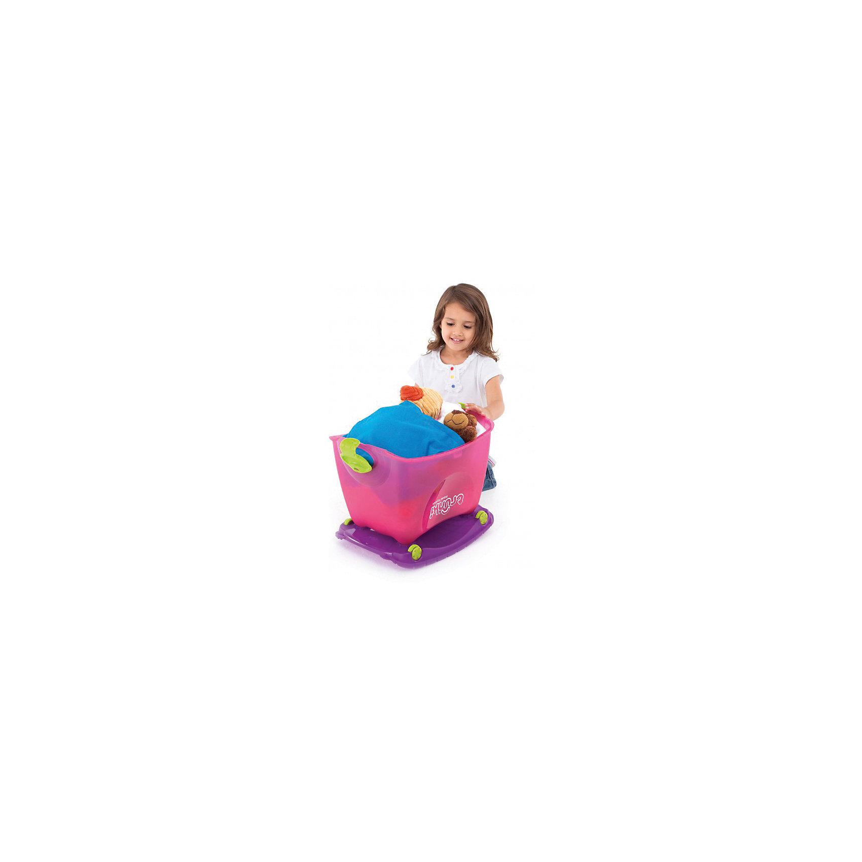 Ящик для игрушек, розовый от myToys