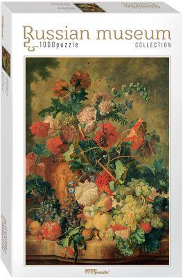 Степ Пазл Пазл Цветы и плоды , 1000 деталей, Step Puzzle