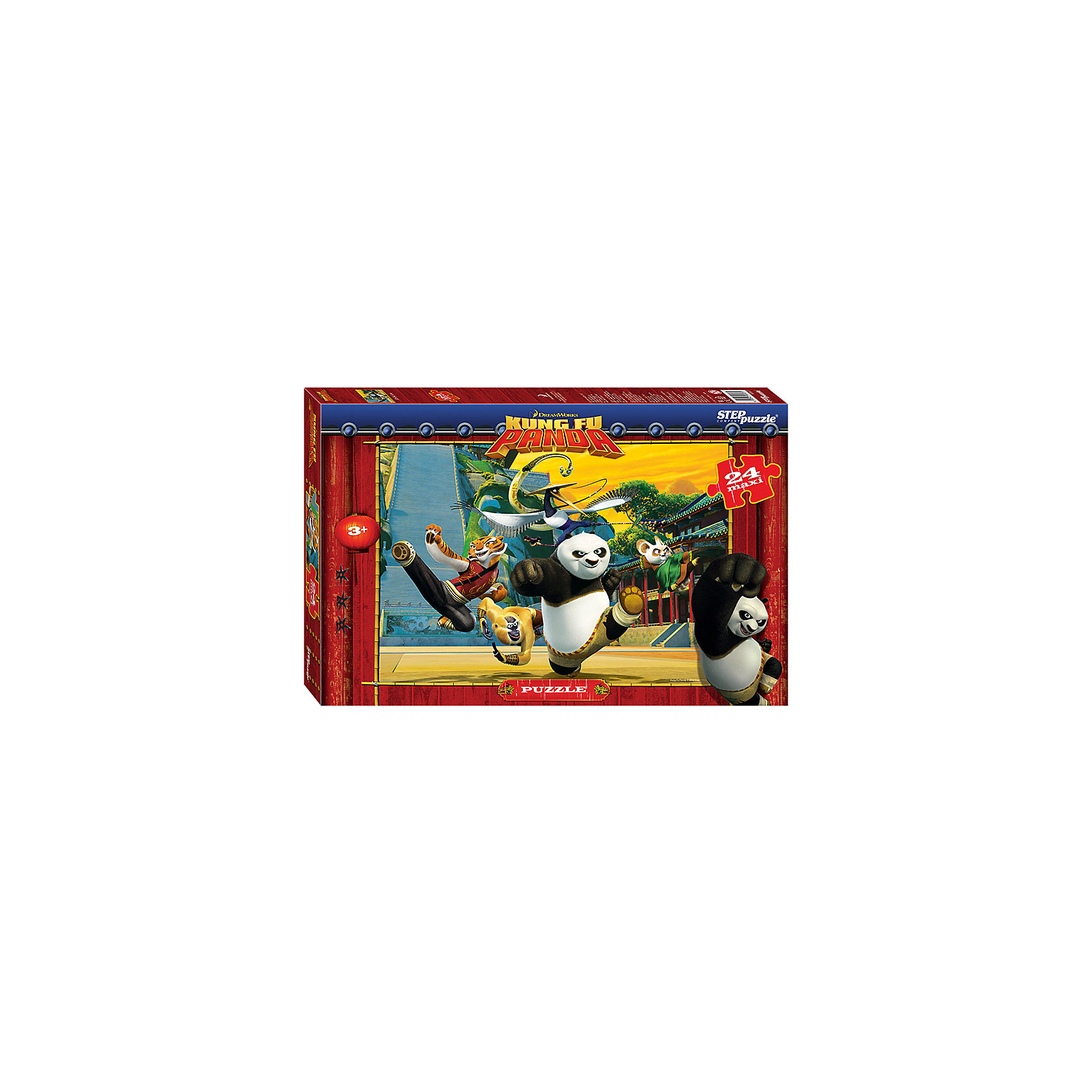 Степ Пазл Пазл Кунг-фу Панда, 24 MAXI детали, Step Puzzle купить газ 66 кунг в краснодарском крае