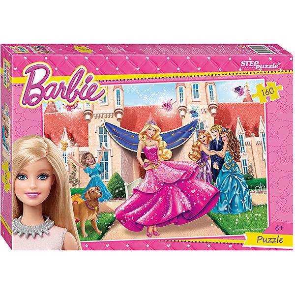 Пазл Барби, 160 деталей, Step PuzzleBarbie<br>Пазл Барби, 160 деталей, от марки Step Puzzle<br><br>Кто не любит собирать пазлы? За этим занятием с удовольствием проводят вечера и взрослые, и дети. Такое занятие поможет ребенку развить моторику, активизировать мыслительные процессы, улучшить внимание и тренировать память.<br>Процесс собирания пазла способен стать объединяющим занятием! На картинке изображены герои из любимого детьми мультфильма о Барби. Продукция данной компании сделана из проверенных материалов, безвредных для детей. Каждая деталь выполнена очень качественно. <br><br>Отличительные особенности пазла:<br><br>- количество элементов: 160;<br>- картинка: герои м/ф о Барби;<br>- размер деталей: 20х22 мм;<br>- размер картинки: 345х240 мм;<br>- размер упаковки: 280х195х34 мм.<br><br>Пазл Барби, 160 деталей, от марки Step Puzzle можно купить в нашем магазине.<br>Ширина мм: 800; Глубина мм: 295; Высота мм: 240; Вес г: 300; Возраст от месяцев: 60; Возраст до месяцев: 120; Пол: Унисекс; Возраст: Детский; Количество деталей: 160; SKU: 4661374;