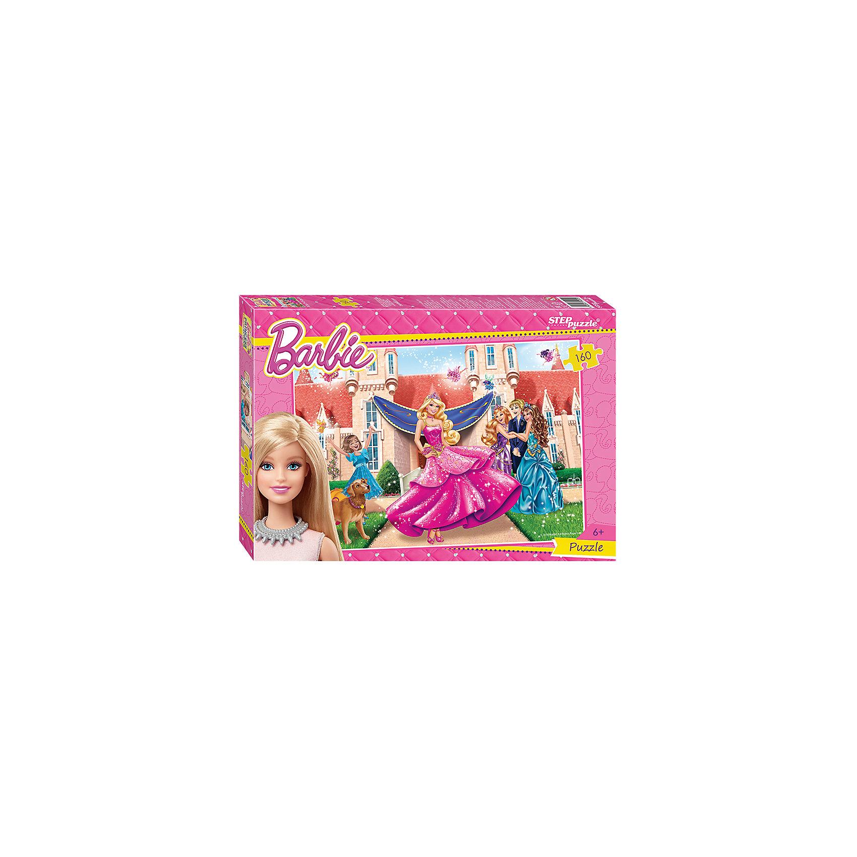 Степ Пазл Пазл Барби, 160 деталей, Step Puzzle пазлы step puzzle пазл винни и его друзья 160 элементов