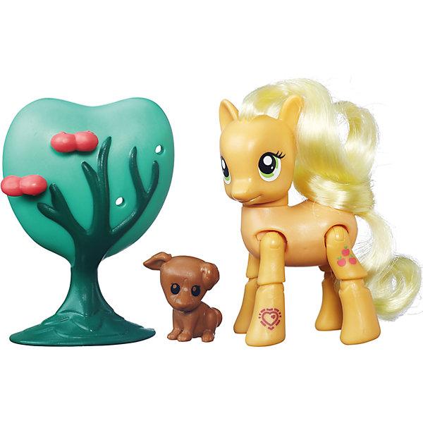 Пони Эппл Джек, Дружба - это чудо!, My little PonyИгрушки<br>Пони Твайлайт Спаркл, Рарити и Пинки Пай с 8 точками артикуляции и аксессуарами добавят динамики игра с пони-подружками. Отсканируйте специальный код своим мобильным устройством, и откройте новые функции в игровом мобильном приложении My Little Pony.<br><br>Ширина мм: 50<br>Глубина мм: 203<br>Высота мм: 50<br>Вес г: 160<br>Возраст от месяцев: 36<br>Возраст до месяцев: 120<br>Пол: Женский<br>Возраст: Детский<br>SKU: 4661751