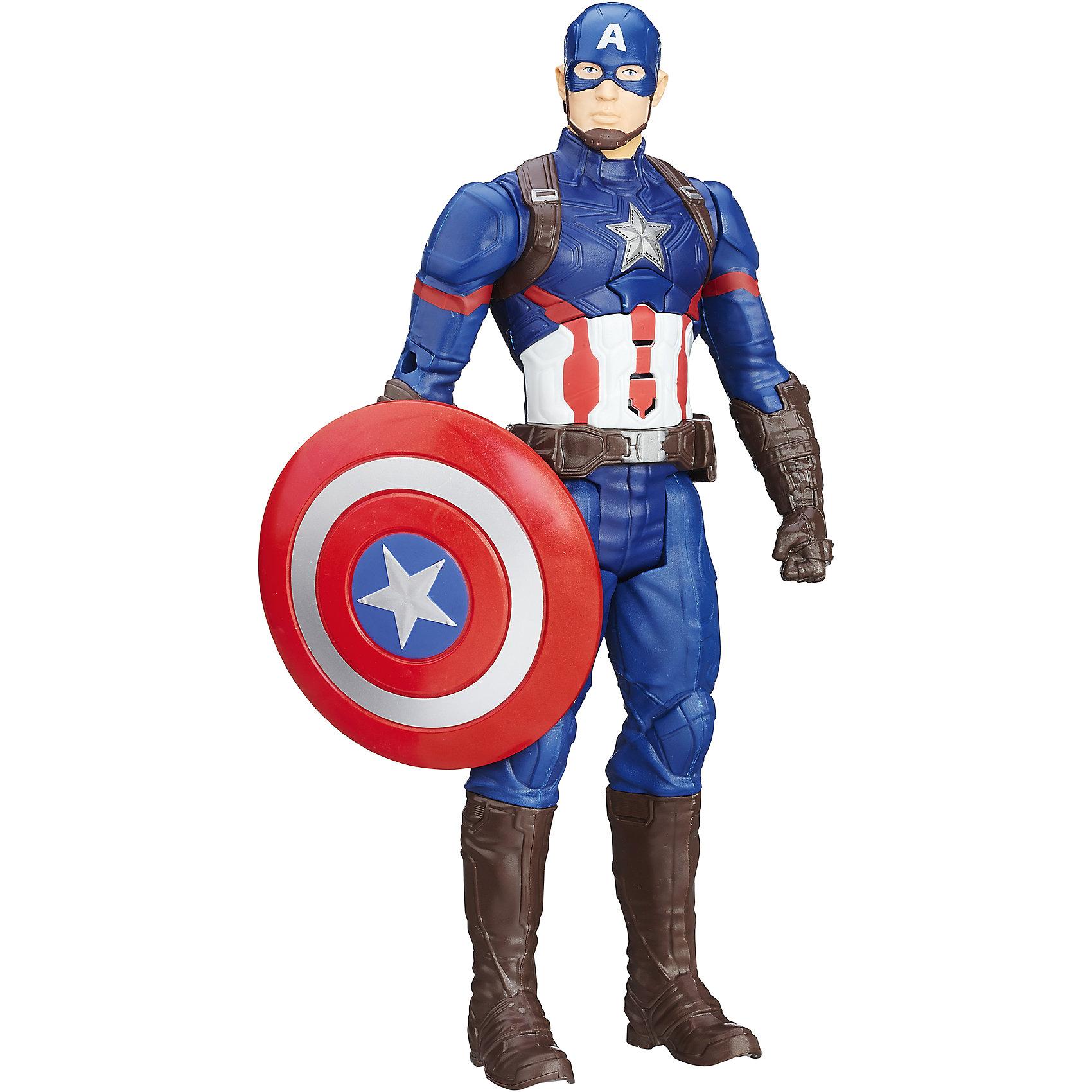 Hasbro Интерактивная фигурка Первого Мстителя игрушка hasbro avengers интерактивная фигурка первого мстителя b6176121