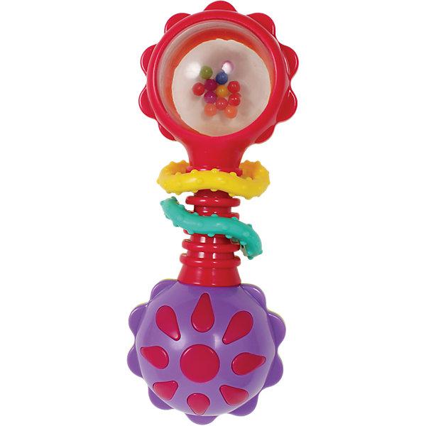 Игрушка-погремушка, PlaygroИгрушки для новорожденных<br>Игрушка-погремушка, Playgro<br><br>Характеристика:<br><br>-Материалы: пластик<br>-Возраст: от 3 до 24 месяцев<br>-Марка: Playgro<br><br>Игрушка-погремушка, Playgro создана для самых маленьких. Яркие цвета игрушки поспособствуют развитию цветового восприятия ребёнка. Погремушка сделана из бесопасных материалов, поэтому не принесет вреда ребёнку. Также она имеет специальную поверхность для развития тактильных ощущений.<br><br>Игрушка-погремушка, Playgro можно приобрести в нашем интернет-магазине.<br>Ширина мм: 184; Глубина мм: 114; Высота мм: 63; Вес г: 62; Возраст от месяцев: 3; Возраст до месяцев: 24; Пол: Унисекс; Возраст: Детский; SKU: 4662750;