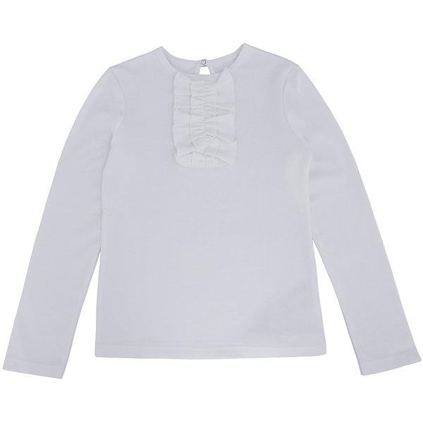 Футболка с длинным рукавом для девочки Белый снегБлузки и рубашки<br>Футболка для девочки от российской марки Белый снег.<br>Состав:<br>100%хлопок<br><br>Ширина мм: 199<br>Глубина мм: 10<br>Высота мм: 161<br>Вес г: 151<br>Цвет: бежевый<br>Возраст от месяцев: 144<br>Возраст до месяцев: 156<br>Пол: Женский<br>Возраст: Детский<br>Размер: 158,140/146,152,122/128,134<br>SKU: 4666632