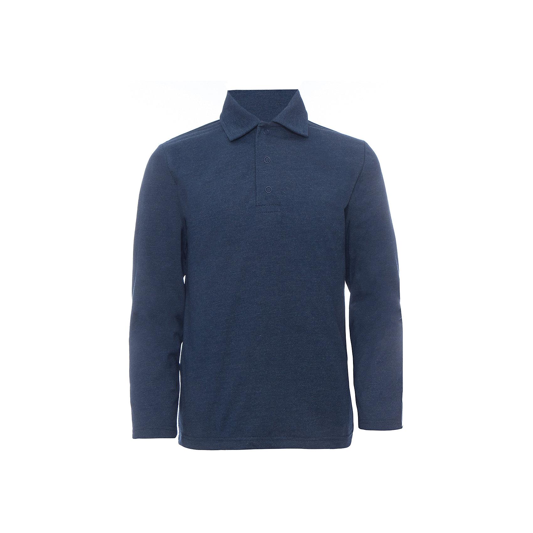 Футболка с длинным рукавом для мальчика Белый снегБлузки и рубашки<br>Футболка с длинным рукавом для мальчика от российской марки Белый снег.<br>Состав:<br>100%хлопок<br><br>Ширина мм: 230<br>Глубина мм: 40<br>Высота мм: 220<br>Вес г: 250<br>Цвет: синий<br>Возраст от месяцев: 144<br>Возраст до месяцев: 156<br>Пол: Мужской<br>Возраст: Детский<br>Размер: 158,152,122/128,134,140/146<br>SKU: 4666692