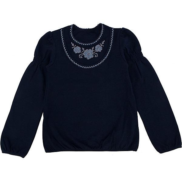 Футболка с длинным рукавом для девочки Белый снегБлузки и рубашки<br>Футболка для девочки от российской марки Белый снег.<br>Состав:<br>100%хлопок<br><br>Ширина мм: 199<br>Глубина мм: 10<br>Высота мм: 161<br>Вес г: 151<br>Цвет: синий<br>Возраст от месяцев: 84<br>Возраст до месяцев: 96<br>Пол: Женский<br>Возраст: Детский<br>Размер: 122/128,134,152,158,140/146<br>SKU: 4666874