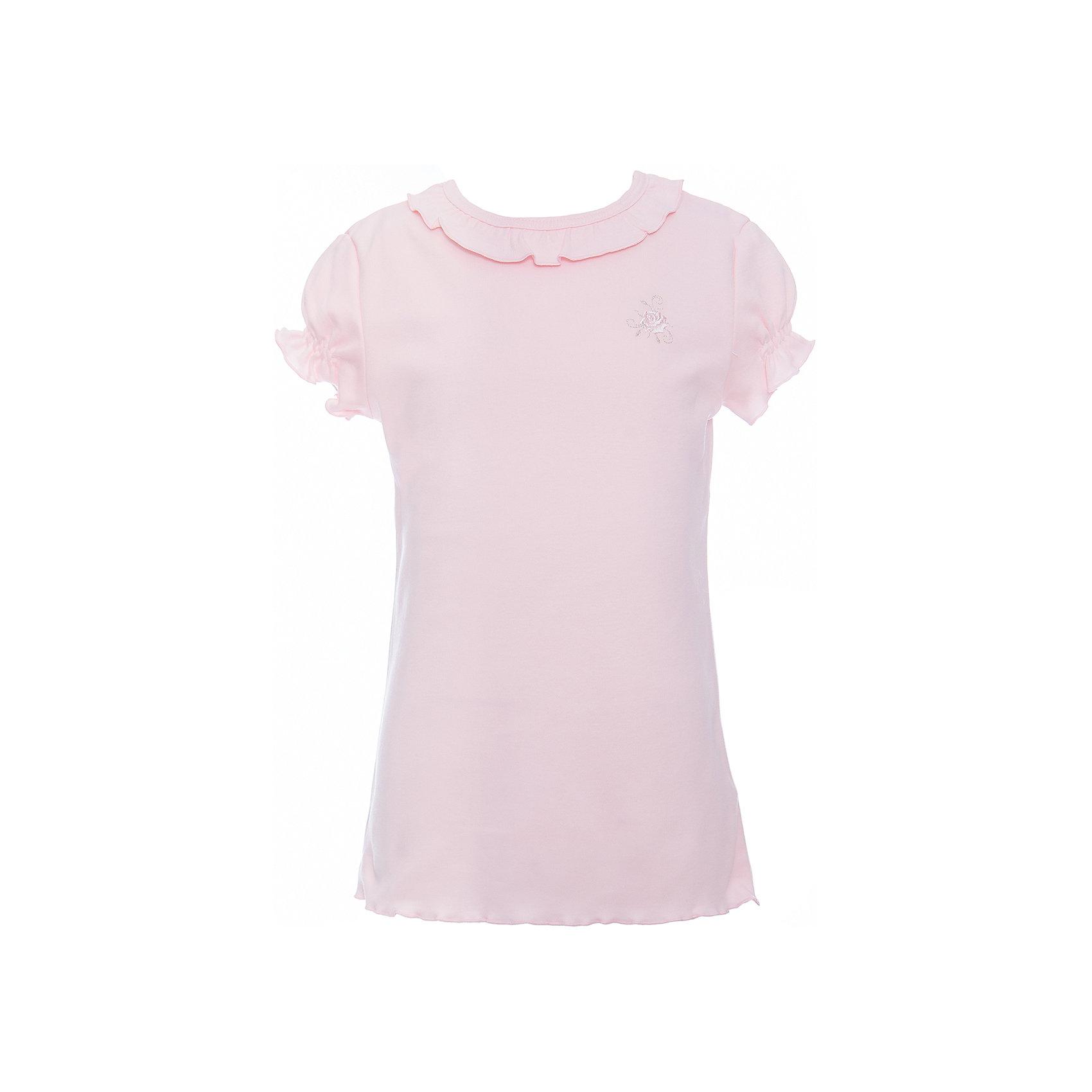 Футболка с длинным рукавом для девочки Белый снегБлузки и рубашки<br>Футболка с длинным рукавом для девочки от российской марки Белый снег.<br>Состав:<br>100%хлопок<br><br>Ширина мм: 230<br>Глубина мм: 40<br>Высота мм: 220<br>Вес г: 250<br>Цвет: розовый<br>Возраст от месяцев: 84<br>Возраст до месяцев: 96<br>Пол: Женский<br>Возраст: Детский<br>Размер: 122/128,158,134,152,140/146<br>SKU: 4666901