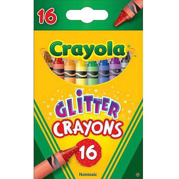 Восковые мелки с блестками, 16 штМасляные и восковые мелки<br>Любая художница оценит такой подарок, как восковые мелки! Что может быть чудесней получить такой набор! Особенно, когда мелки с блестками! <br><br>В набор входит 16 разноцветных и насыщенных цветов. Один взгляд на них, и уже хочется взять в руки и начать творить! Мелки не пачкают руки и достаточно прочные, чтобы выдержать сильное давление. Изготовлены они из натуральных восков и масел, поэтому абсолютно безопасны! <br><br>Комплект восковых мелков поражает своими цветовыми оттенками и внешним видом. Такой подарок даст толчок в развитии личности вашего ребенка, его воображения, мелкой моторики и логического мышления.<br><br>Восковые мелки с блестками, 16 шт можно купить в нашем магазине.<br>Ширина мм: 115; Глубина мм: 70; Высота мм: 19; Вес г: 83; Возраст от месяцев: 36; Возраст до месяцев: 144; Пол: Унисекс; Возраст: Детский; SKU: 4666935;