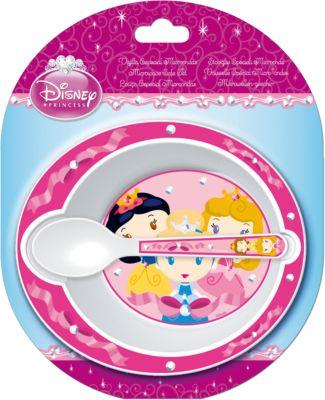 ND Play Набор посуды для СВЧ (миска + ложка), Принцессы