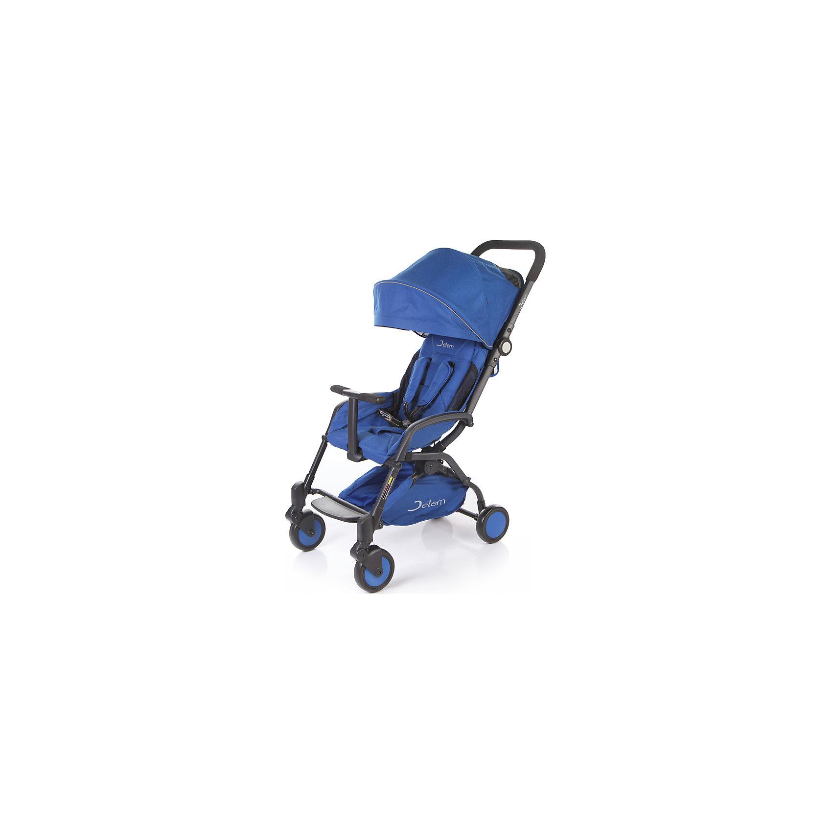 Прогулочная коляска Muzzy, Jetem, синийJetem, Коляска прогулочная Muzzy создана для самых ярких путешествий!!!Коляска имеет оригинальный дизайн, широкое посадочное место. Легко и компактно складывается.<br><br>Особенности:<br>легкая алюминиевая рама,плавающие передние колеса,<br>5-ти точеные ремни безопасности,<br>съемный бампер с мягкой обивкой, <br>очень компактное складывание,<br>3 уровня наклона спинки,ножная тормозная система.<br>Комплектация: Чехол на ноги.<br><br>Дополнительная информация:<br><br>Характеристики: диаметр колес: передние – 15.3 см, задние — 15.3 см,<br>тип колес: одинарные,<br>механизм складывания: книжка,<br>вес: 7.6 кг,<br>ширина сиденья: 39 см,<br>размер корзины: 41х18х8 см,<br>размер в разложенном виде: 87х44х104 см,<br>размер в сложенном виде: 51х44х31 см.<br><br>Прогулочную коляску Muzzy, Jetem, синий можно купить в нашем магазине.<br><br>Ширина мм: 460<br>Глубина мм: 550<br>Высота мм: 250<br>Вес г: 9200<br>Цвет: синий<br>Возраст от месяцев: 6<br>Возраст до месяцев: 36<br>Пол: Унисекс<br>Возраст: Детский<br>SKU: 4679099