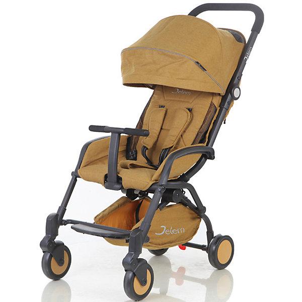 Прогулочная коляска Jetem Muzzy, жёлтыйПрогулочные коляски<br>Jetem, Коляска прогулочная Muzzy создана для самых ярких путешествий!!!Коляска имеет оригинальный дизайн, широкое посадочное место. Легко и компактно складывается.<br><br>Особенности:<br>легкая алюминиевая рама,плавающие передние колеса,<br>5-ти точеные ремни безопасности,<br>съемный бампер с мягкой обивкой, <br>очень компактное складывание,<br>3 уровня наклона спинки,ножная тормозная система.<br>Комплектация: Чехол на ноги.<br><br>Дополнительная информация:<br><br>Характеристики: диаметр колес: передние – 15.3 см, задние — 15.3 см,<br>тип колес: одинарные,<br>механизм складывания: книжка,<br>вес: 7.6 кг,<br>ширина сиденья: 39 см,<br>размер корзины: 41х18х8 см,<br>размер в разложенном виде: 87х44х104 см,<br>размер в сложенном виде: 51х44х31 см.<br><br>Прогулочную коляску Muzzy, Jetem, жёлтый можно купить в нашем магазине.<br><br>Ширина мм: 460<br>Глубина мм: 550<br>Высота мм: 250<br>Вес г: 9200<br>Цвет: желтый<br>Возраст от месяцев: 6<br>Возраст до месяцев: 36<br>Пол: Унисекс<br>Возраст: Детский<br>SKU: 4679101