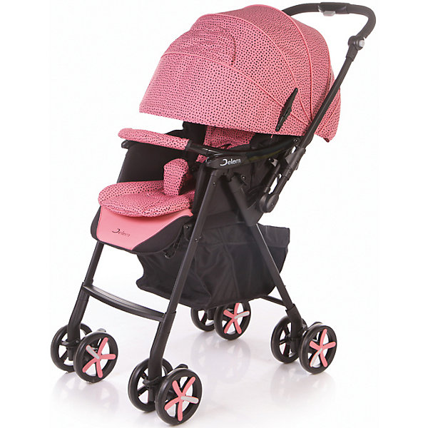 Купить Прогулочная коляска Jetem Graphite, розовый, Китай, Унисекс