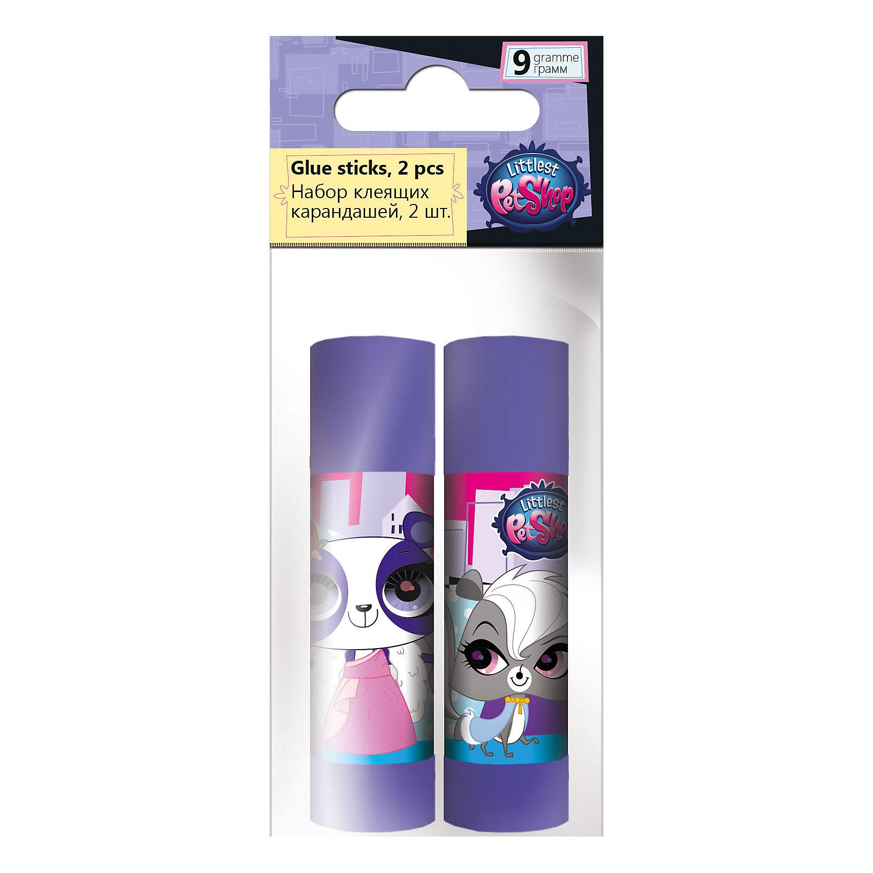 Набор клея ПВА, 2 шт. по 9 г., Littlest Pet ShopLittlest Pet Shop Товары для школы<br>Набор клея ПВА, Littlest Pet Shop, прекрасно подойдет для склеивания всех видов бумаги и картона. В комплекте два пластиковых флакона фиолетовой расцветки, украшенных изображением забавных зверюшек из популярного мультсериала Маленький зоомагазин. Клей белого цвета легко наносится. Упаковка - ПП пакет с подвесом.<br><br><br>Дополнительная информация:<br><br>- В комплекте: 2 флакона по 9 гр.<br>- Размер упаковки: 12 х 2 х 5 см.<br>- Вес: 38 гр.<br><br>Набор клея ПВА, 2 шт. по 9 г., Littlest Pet Shop, можно купить в нашем интернет-магазине.<br><br>Ширина мм: 20<br>Глубина мм: 50<br>Высота мм: 120<br>Вес г: 38<br>Возраст от месяцев: 60<br>Возраст до месяцев: 84<br>Пол: Женский<br>Возраст: Детский<br>SKU: 4681065