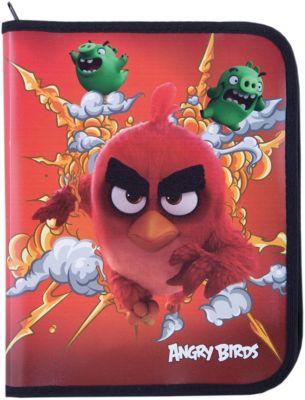 Академия Групп Папка А5+ На Молнии, Angry Birds
