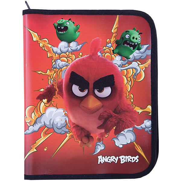 Папка А5+ на молнии, Angry BirdsПапки для труда<br>Папка на молнии, Angry Birds - яркий практичный аксессуар, который порадует маленького школьника и поможет сохранить школьные принадлежности в чистоте и аккуратности. В нарядной папке формата А5+ можно хранить тетрадки, рисунки, чертежи. Папка выполнена по мотивам<br>нового мультфильма про популярных птичек Angry Birds и украшена изображениями его персонажей. Внутри одно отделение, застежка на молнии.<br><br><br>Дополнительная информация:<br><br>- Материал: полипропилен.<br>- Формат: А5+.<br>- Размер: 24 х 2,5 х 18,5 см.  <br>- Вес: 60 гр.<br><br>Папку на молнии, Angry Birds, можно купить в нашем интернет-магазине.<br>Ширина мм: 240; Глубина мм: 185; Высота мм: 25; Вес г: 60; Возраст от месяцев: 96; Возраст до месяцев: 108; Пол: Мужской; Возраст: Детский; SKU: 4681098;