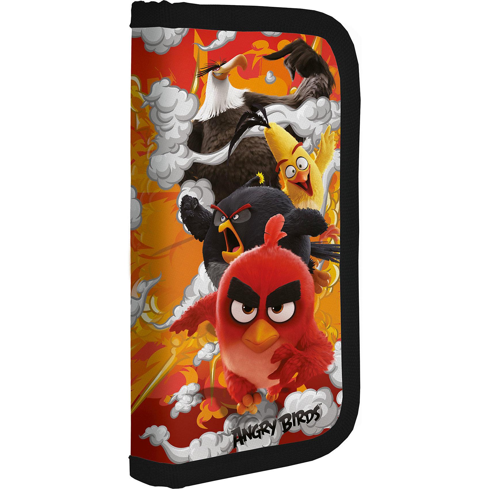 Пенал,  Angry BirdsЯркие канцелярские принадлежности с привлекательным дизайном сделают школьные занятия веселее и поднимут настроение маленькому школьнику. Жесткий, ламинированный пенал Angry Birds выполнен в яркой расцветке и украшен изображением забавных персонажей<br>популярной компьютерной игры Angry Birds. Внутри одно двухстворчатое отделение на молнии с резинками-держателями для письменных принадлежностей.<br><br><br>Дополнительная информация:<br><br>- Материал: полиэстер.<br>- Размер: 20 х 3 х 9 см.<br>- Вес: 100 гр.<br><br>Пенал, Angry Birds, можно купить в нашем интернет-магазине.<br><br>Ширина мм: 200<br>Глубина мм: 90<br>Высота мм: 30<br>Вес г: 100<br>Возраст от месяцев: 96<br>Возраст до месяцев: 108<br>Пол: Мужской<br>Возраст: Детский<br>SKU: 4681120