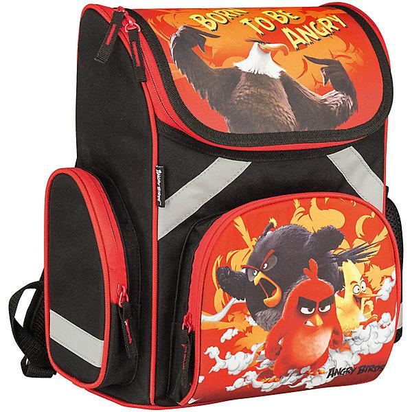 Школьный рюкзак Angry BirdsРанцы<br>Рюкзак Angry Birds - прекрасный вариант для школьных занятий. Рюкзак изготовлен из прочного полиэстера и имеет оригинальный дизайн по мотивам нового мультфильма про популярных птичек Angry Birds. Эргономичная спинка выполнена в виде накладок анатомической формы из<br>нескольких слоев вспененных синтетических материалов и обтянута воздухообменной сеткой. Спинка и боковые панели усилены пластиком, дно из прочного непромокаемого материала поможет сохранить вещи в порядке и чистоте. Широкие анатомические лямки, регулируемые по<br>длине, равномерно распределяют нагрузку на плечевой пояс. Также есть удобная прорезиненная ручка, за которую можно нести рюкзак. <br><br>Рюкзак закрывается на застежку-молнию, внутри одно просторное вместительное отделение с двумя разделителями. На лицевой стороне рюкзака расположен большой накладной карман, закрывающийся на молнию, также имеются карманы по бокам рюкзака (сетчатый и на молнии).<br>Светоотражающие вставки повышают безопасность ребенка на дороге.<br><br><br>Дополнительная информация:<br><br>- Материал: полиэстер.  <br>- Размер: 35 х 26,5 х 13 см.<br>- Вес: 0,99 кг.<br><br>Рюкзак, Angry Birds, можно купить в нашем интернет-магазине.<br><br>Ширина мм: 265<br>Глубина мм: 130<br>Высота мм: 350<br>Вес г: 990<br>Возраст от месяцев: 72<br>Возраст до месяцев: 108<br>Пол: Мужской<br>Возраст: Детский<br>SKU: 4681155