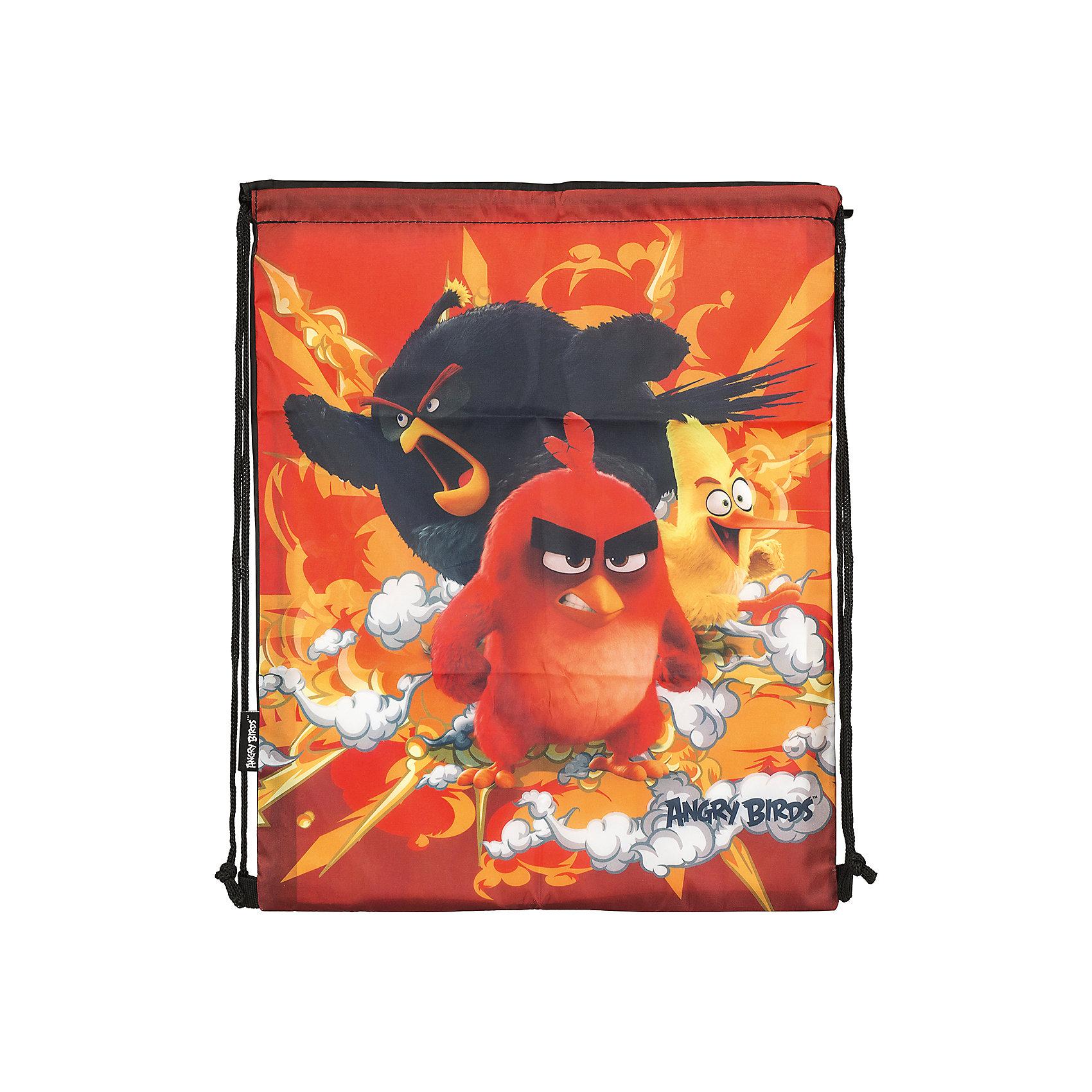 Мешок для обуви, Angry BirdsAngry Birds<br>Мешок для обуви, Angry Birds, идеально подойдет для сменной обуви маленького школьника и для физкультурной формы. Мешок изготовлен из прочного водостойкого материала и имеет оригинальный дизайн по мотивам нового мультфильма про популярных птичек Angry Birds. Мешок затягивается сверху при помощи текстильных шнурков-лямок, которые фиксируются в нижней части, благодаря чему его можно носить за спиной как рюкзак.<br><br><br>Дополнительная информация:<br><br>- Материал: 100% полиэстер.<br>- Размер: 43 х 1 х 34 см.<br>- Вес: 45 гр. <br><br>Мешок для обуви, Angry Birds, можно купить в нашем интернет-магазине.<br><br>Ширина мм: 430<br>Глубина мм: 340<br>Высота мм: 10<br>Вес г: 45<br>Возраст от месяцев: 96<br>Возраст до месяцев: 108<br>Пол: Мужской<br>Возраст: Детский<br>SKU: 4681171