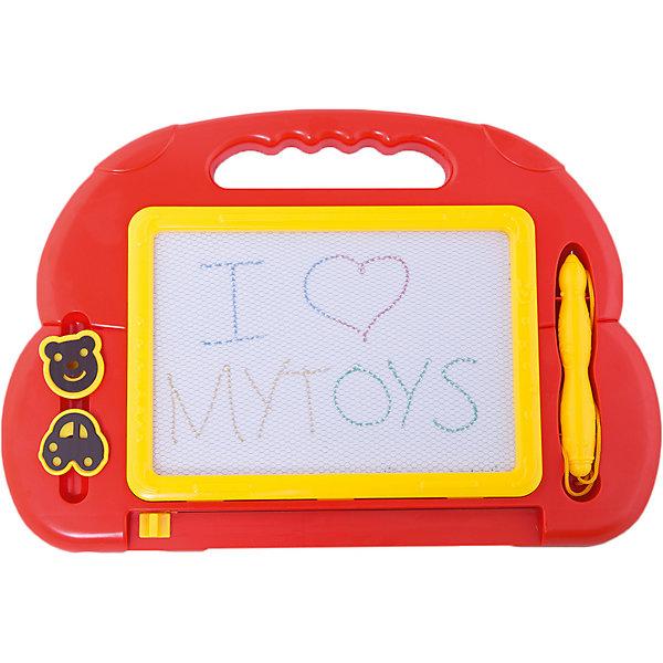 Магнитная доска, Play-DohКоврики и доски для рисования<br>Магнитная доска, Play-Doh, предназначена для записей и рисования. Доска выполнена из высококачественного прочного пластика. В комплект также входят специальная ручка на веревочке и 2 фигурных штампа. Упаковка - картонная коробка с вырубным окном.<br><br><br>Дополнительная информация:<br><br>- В комплекте: магнитная доска, специальная ручка на веревочке, 2 фигурных штампа.<br>- Материал: пластик <br>- Размер упаковки: 24 х 2 х 35,7 см.<br>- Вес: 0,422 кг. <br><br>Магнитную доску, Play-Doh, можно купить в нашем интернет-магазине.<br><br>Ширина мм: 240<br>Глубина мм: 357<br>Высота мм: 20<br>Вес г: 422<br>Возраст от месяцев: 36<br>Возраст до месяцев: 72<br>Пол: Унисекс<br>Возраст: Детский<br>SKU: 4681187