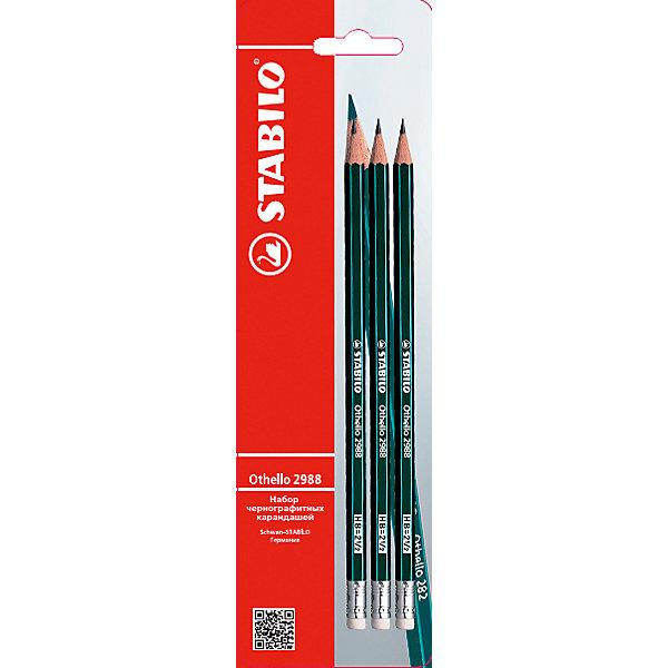 Карандаш OTHELLO, 3 шт.Письменные принадлежности<br>Карандаш OTHELLO, 3 шт. от марки Stabilo<br><br>Эти карандаши созданы немецкой компанией для комфортного и легкого письма или рисования. Легко затачиваются, при этом грифель очень устойчив к поломкам. <br>Грифель - из высококачественного мелкодисперсного графита. В наборе - три карандаша. Они отлично лежат в руке благодаря удобной форме и лаковому покрытию в несколько слоев.<br><br>Особенности данной модели:<br><br>комплектация: 3 шт..<br><br>Карандаш OTHELLO, 3 шт. от марки Stabilo можно купить в нашем магазине.<br><br>Ширина мм: 240<br>Глубина мм: 70<br>Высота мм: 10<br>Вес г: 6<br>Возраст от месяцев: 36<br>Возраст до месяцев: 2147483647<br>Пол: Унисекс<br>Возраст: Детский<br>SKU: 4684718