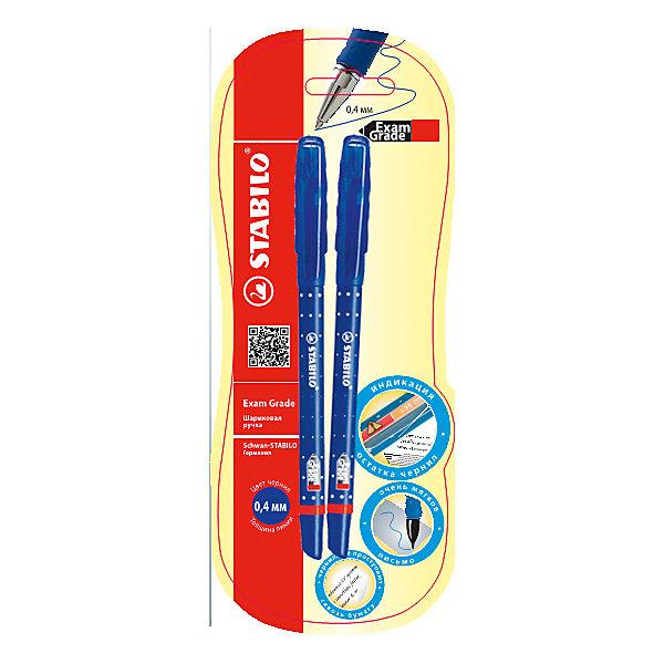 Шариковая ручка EXAM GRADE, синяяПисьменные принадлежности<br>Ручка синяя, 3 шт. от марки Stabilo<br><br>Удобные немецкие ручки от компании Stabilo в прозрачном корпусе. Пишущий инструмент отличного качества! Автоматическая шариковая ручка имеет заменяемый стержень и надежный клип.<br>Отлично ложится в руке, пишет мягко. Дает аккуратную линию. Чернил хватает на долгое время! Чернила быстро сохнут. В наборе - три одинаковые ручки.<br><br>Особенности данной модели:<br><br>ширина оставляемого следа: 0,3 мм;<br>цвет корпуса: синий.<br><br>Ручка синяя, 3 шт. от марки Stabilo можно купить в нашем магазине.<br><br>Ширина мм: 204<br>Глубина мм: 80<br>Высота мм: 10<br>Вес г: 11<br>Возраст от месяцев: 36<br>Возраст до месяцев: 2147483647<br>Пол: Унисекс<br>Возраст: Детский<br>SKU: 4684729