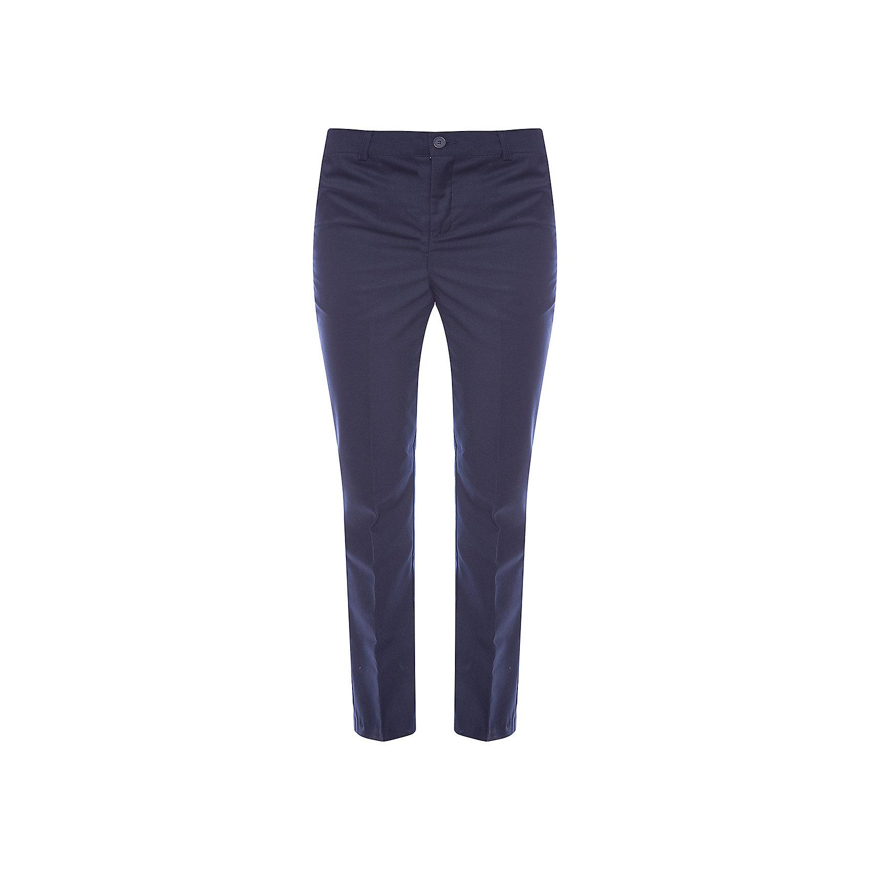 S'cool Брюки для мальчика S'cool брюки fox фокс цвет темный синий с карманами сзади для мальчика с 12 до 18 мес