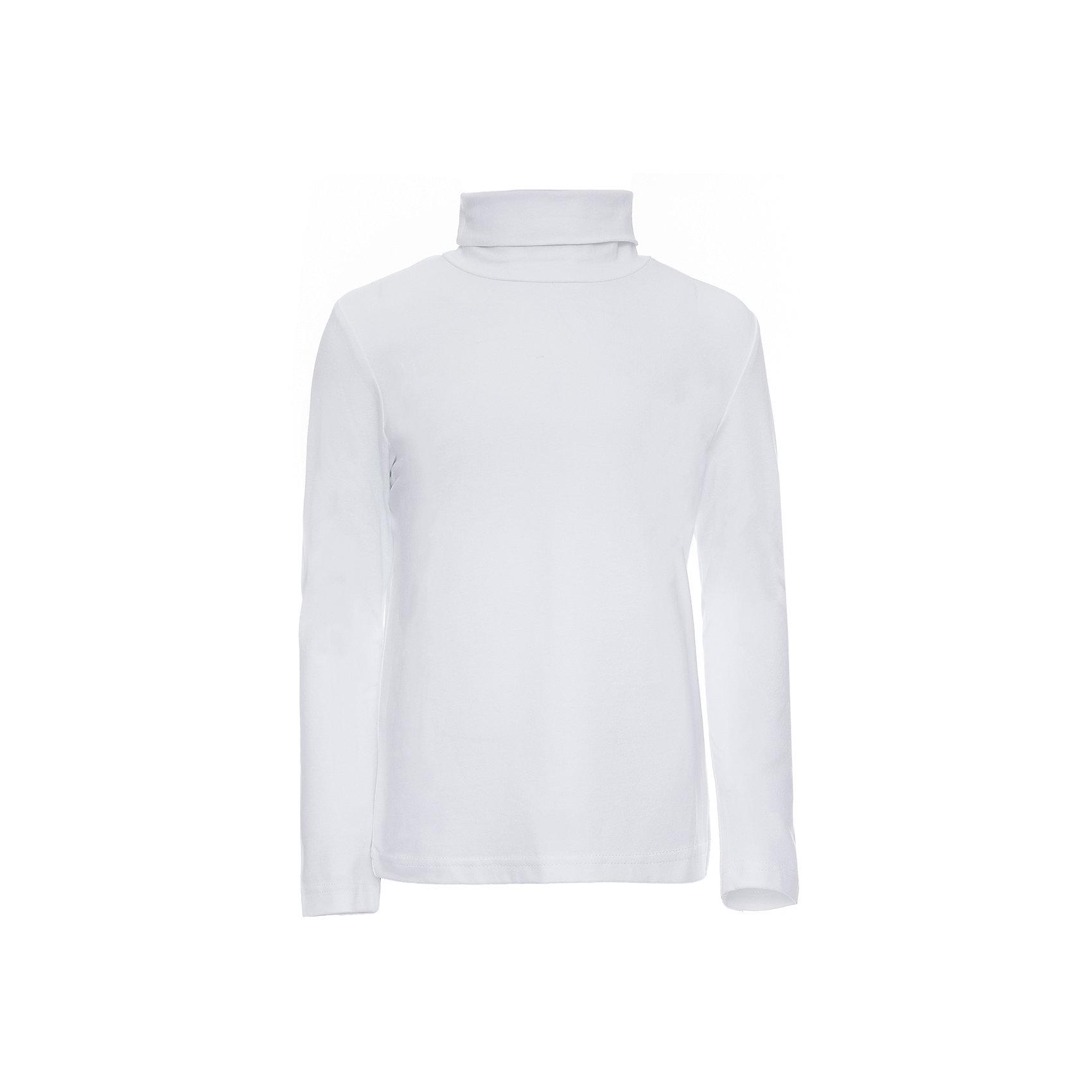 Водолазка для мальчика ScoolВодолазка для мальчика от известного бренда Scool<br>Состав:<br>92% хлопок, 8% эластан<br>Уютная белая водолазка с высоким воротником. Хорошо смотрится с любыми брюками и джинсами.<br><br>Ширина мм: 230<br>Глубина мм: 40<br>Высота мм: 220<br>Вес г: 250<br>Цвет: белый<br>Возраст от месяцев: 108<br>Возраст до месяцев: 120<br>Пол: Мужской<br>Возраст: Детский<br>Размер: 140,128,122,134,146<br>SKU: 4686760