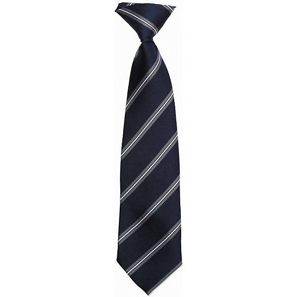 Галстук для мальчика ScoolАксессуары<br>Галстук для мальчика от известного бренда Scool<br>Состав:<br>100% полиэстер<br>Классический галстук темно-синего цвета в серую полоску.<br>Ширина мм: 170; Глубина мм: 157; Высота мм: 67; Вес г: 117; Цвет: темно-синий; Возраст от месяцев: 84; Возраст до месяцев: 144; Пол: Мужской; Возраст: Детский; Размер: one size; SKU: 4686858;