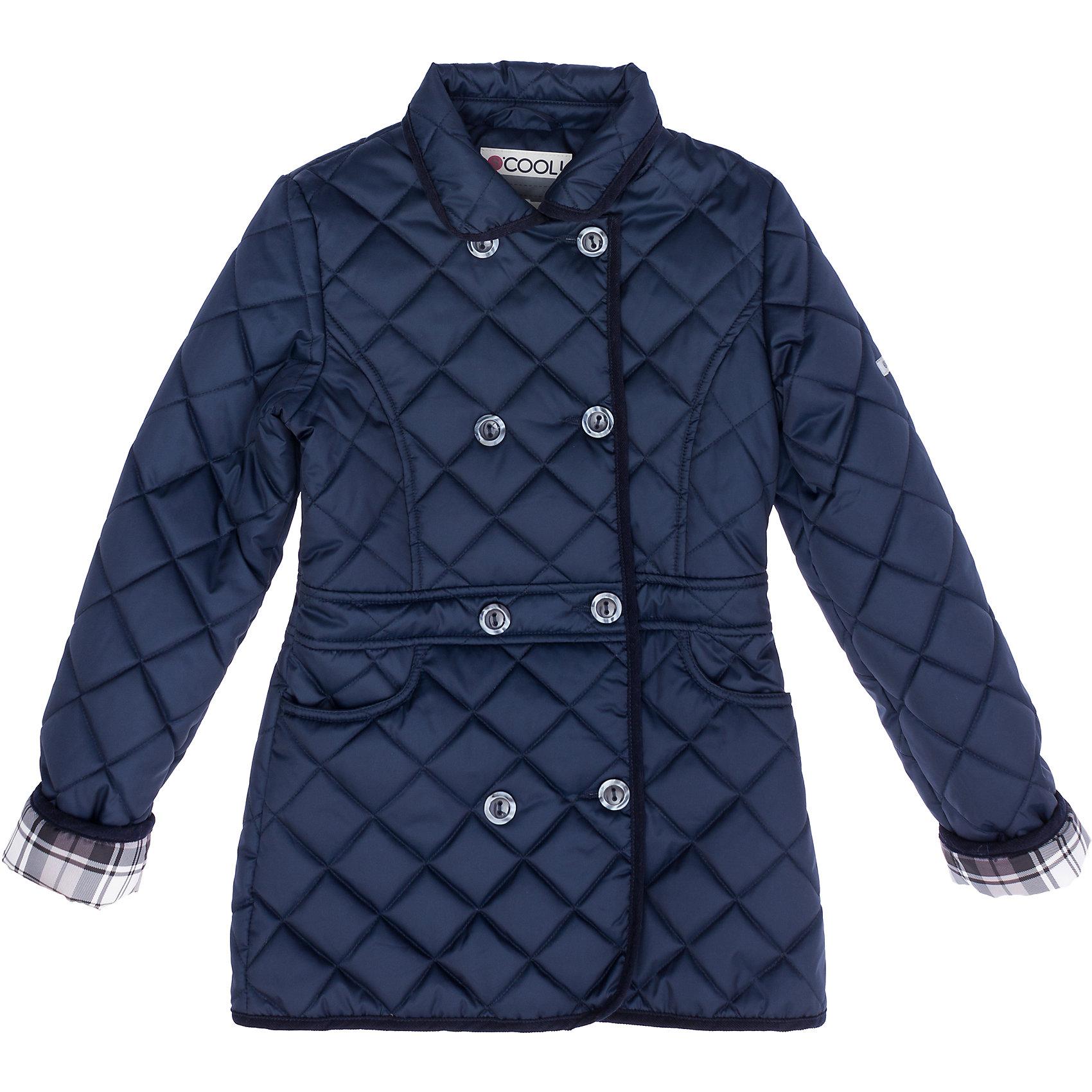 Куртка для девочки ScoolВерхняя одежда<br>Куртка для девочки от известного бренда Scool<br>Состав:<br>Верх: 100% полиэстер, Подкладка: 100% полиэстер, Наполнитель: 100% полиэстер, 100 г/м2<br>Легкая стеганая куртка для теплой осени. Застегивается на пуговицы, внутри подкладка из таффеты в клетку. Есть два глубоких кармана.<br><br>Ширина мм: 356<br>Глубина мм: 10<br>Высота мм: 245<br>Вес г: 519<br>Цвет: полуночно-синий<br>Возраст от месяцев: 72<br>Возраст до месяцев: 84<br>Пол: Женский<br>Возраст: Детский<br>Размер: 122,134,164,146,158,152,140,128<br>SKU: 4686883