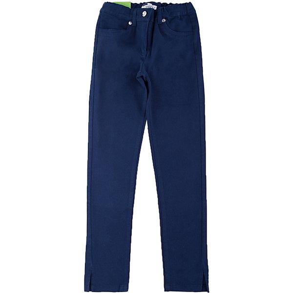 Брюки для девочки ScoolБрюки<br>Брюки для девочки от известного бренда Scool<br>Состав:<br>98% хлопок, 2% эластан<br>Плотные хлопковые брюки темно-синего цвета. Застегиваются на молнию и металлическую кнопку, есть шлевки для ремня. Спереди и сзади функциональные карманы.<br>Ширина мм: 215; Глубина мм: 88; Высота мм: 191; Вес г: 336; Цвет: темно-синий; Возраст от месяцев: 84; Возраст до месяцев: 96; Пол: Женский; Возраст: Детский; Размер: 128,146,122,134,140,152,158,164; SKU: 4686924;