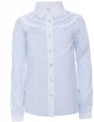 Блузка Голубая Для Девочки В Спб
