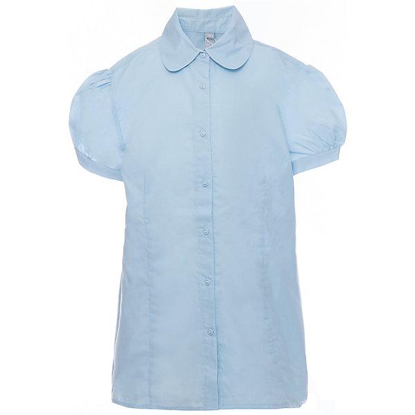 Блузка для девочки ScoolБлузки и рубашки<br>Блузка для девочки от известного бренда Scool<br>Состав:<br>65% хлопок, 35% полиэстер<br>Стильная голубая блузка на пуговках. Округлый воротник. Рукава-фонарики придают кокетства.<br>Ширина мм: 186; Глубина мм: 87; Высота мм: 198; Вес г: 197; Цвет: голубой; Возраст от месяцев: 156; Возраст до месяцев: 168; Пол: Женский; Возраст: Детский; Размер: 164,158,140,122,128,134,146,152; SKU: 4687020;