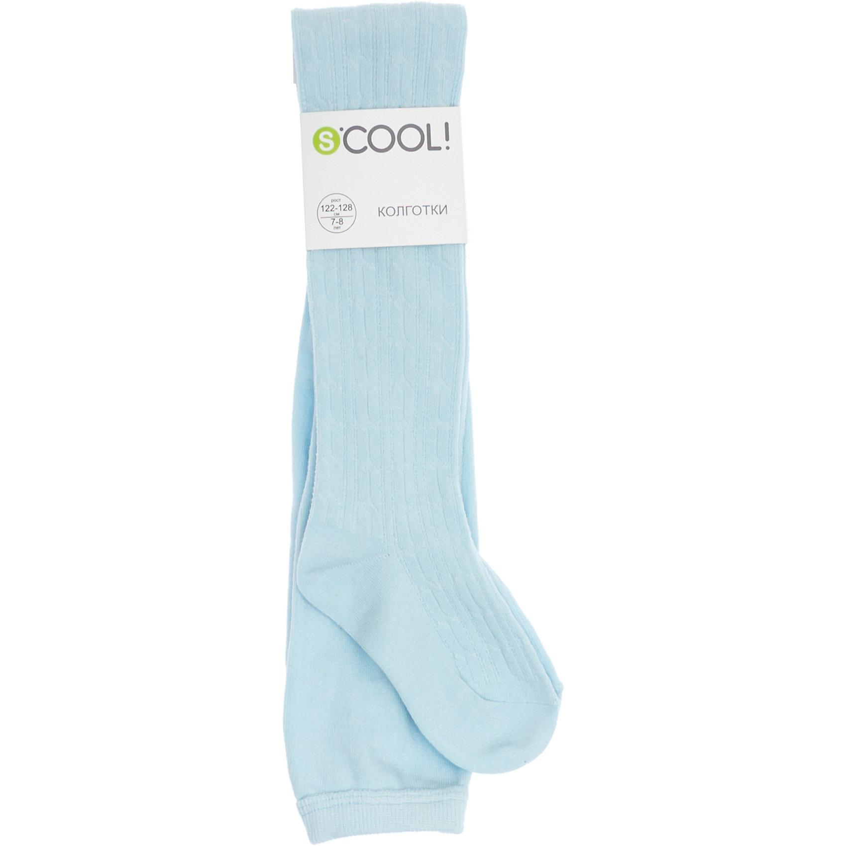 Колготки для девочки ScoolКолготки для девочки от известного бренда Scool<br>Состав:<br>75% хлопок, 22% нейлон, 3% эластан<br>Уютные хлопковые колготки на каждый день. Пояс на мягкой резинке.<br><br>Ширина мм: 123<br>Глубина мм: 10<br>Высота мм: 149<br>Вес г: 209<br>Цвет: голубой<br>Возраст от месяцев: 15<br>Возраст до месяцев: 18<br>Пол: Женский<br>Возраст: Детский<br>Размер: 22,18,20<br>SKU: 4687189