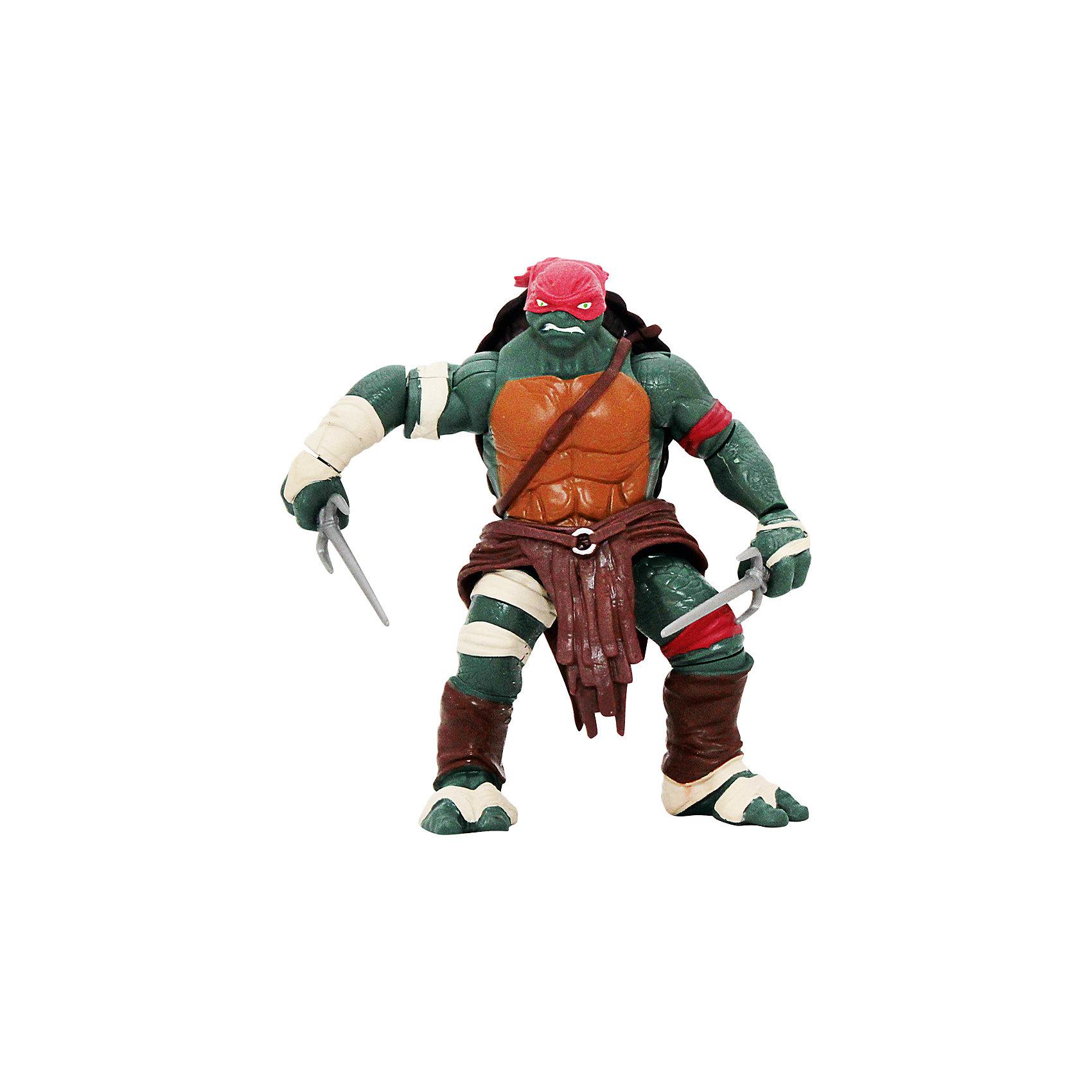 - Фигурка Рафаэль, 14 см, Черепашки Ниндзя игровые фигурки turtles машинка черепашки ниндзя 7 см сплинтер на атаке сенсея