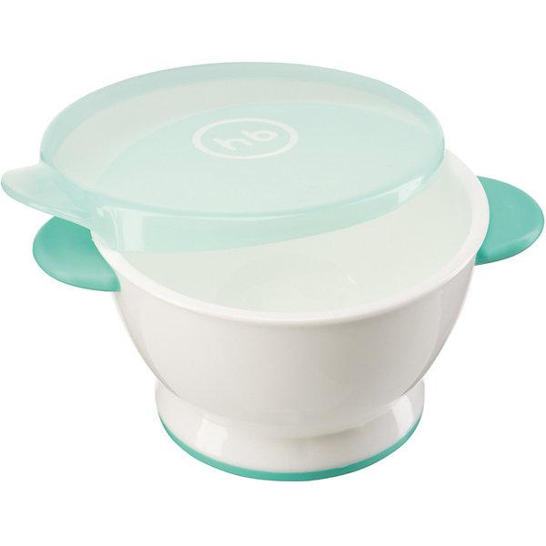 Тарелка с крышкой, Happy Baby, мятныйДетская посуда<br>Для обеспечения каждого малыша питанием с момента его рождения требуется специальная посуда. На помощь родителям придет разработанная профессионалами посуда. Тарелка с крышкой от Happy Baby (Хэпи Бэби) позволит даже в дороге покормить малыша с удобством.<br>Она отличается эргономичной формой, благодаря которой вмещает достаточное количество еды и не занимает много места. Крышка - герметичная. Специально разработанное дно также имеет антискользящие свойства, благодаря этим свойствам такую тарелку очень удобно брать в поездки. Этот предмет имеет приятную расцветку. Сделана посуда из высококачественных и безопасных для малышей материалов.<br><br>Дополнительная информация:<br><br>цвет: белый, мятный;<br>материал: ТПЭ, полипропилен;<br>эргономичная форма;<br>нескользящее дно.<br><br>Тарелку с крышкой, Happy Baby (Хэпи Бэби), мятный, можно купить в нашем магазине.<br><br>Ширина мм: 90<br>Глубина мм: 130<br>Высота мм: 130<br>Вес г: 62<br>Возраст от месяцев: 6<br>Возраст до месяцев: 36<br>Пол: Унисекс<br>Возраст: Детский<br>SKU: 4694994