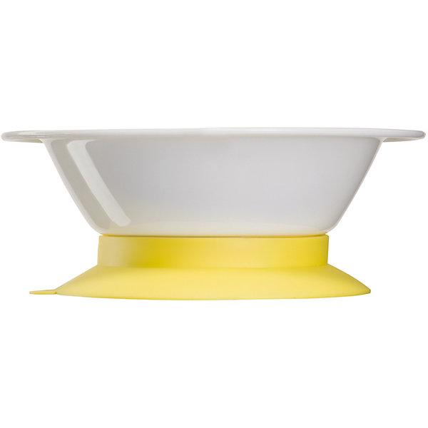 Тарелка глубокая с присоской, Happy Baby, желтыйДетская посуда<br>Для обеспечения каждого малыша питанием с момента его рождения требуется специальная посуда. На помощь родителям придет разработанная профессионалами посуда. Глубокая тарелка с присоской от Happy Baby (Хэпи Бэби) позволит даже в дороге покормить малыша с удобством. Эта тарелка не разобьется при случайном падении. Она имеет широкие края, благодаря которым процесс кормления становится удобнее.<br>Она отличается эргономичной формой, благодаря которой вмещает достаточное количество еды и не занимает много места. Специально разработанное дно также имеет антискользящие свойства, оно дополнено присоской. Украшена тарелка симпатичным рисунком внутри. Этот предмет имеет приятную расцветку. Сделана посуда из высококачественных и безопасных для малышей материалов. С помощью такой тарелки малыш быстрее научится есть из взрослой посуды.<br><br>Дополнительная информация:<br><br>цвет: белый, желтый;<br>материал: ТПЭ, полипропилен;<br>рисунок на дне;<br>широкие края;<br>эргономичная форма;<br>дно с присоской.<br><br>Тарелка глубокая с присоской, Happy Baby (Хэпи Бэби), желтый, можно купить в нашем магазине.<br><br>Ширина мм: 50<br>Глубина мм: 165<br>Высота мм: 210<br>Вес г: 94<br>Возраст от месяцев: 6<br>Возраст до месяцев: 36<br>Пол: Унисекс<br>Возраст: Детский<br>SKU: 4695000