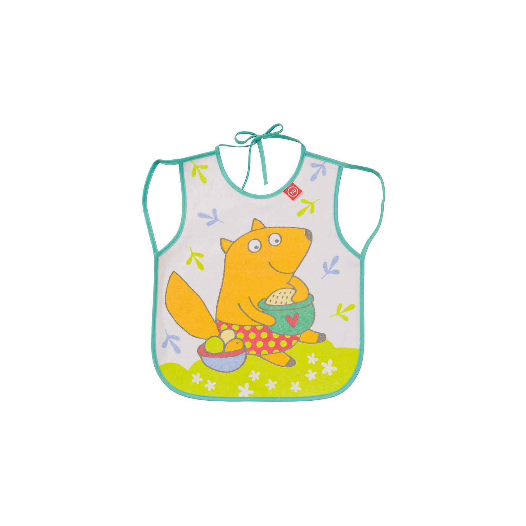 Фартук нагрудный, Happy Baby, мятныйКормление малыша, как правило, требует особой подготовки. Так же, как и приучить его есть и пить самому - непростой процесс, но на помощь родителям придут разработанные профессионалами приспособления - например, нагрудные фартуки. Фартук нагрудный от Happy Baby (Хэпи Бэби) позволит малышу легче научиться есть и пить самостоятельно.<br>Он отличается удобной формой, приятный на ощупь, из мягкого материала. Надежно защитит одежду малыша от остатков пищи и пятен, так как имеет непромокаемую подкладку. Нагрудный фартук легко надевается благодаря лямкам и завязке на шее. Украшен он симпатичным рисунком. Сделан нагрудный фартук из высококачественных и безопасных для малышей материалов.<br><br>Дополнительная информация:<br><br>цвет: разноцветный;<br>удобная форма;<br>украшен принтом;<br>непромокаемая подкладка.<br><br>Фартук нагрудный, Happy Baby (Хэпи Бэби), мятный, можно купить в нашем магазине.<br><br>Ширина мм: 10<br>Глубина мм: 200<br>Высота мм: 320<br>Вес г: 42<br>Возраст от месяцев: 3<br>Возраст до месяцев: 36<br>Пол: Унисекс<br>Возраст: Детский<br>SKU: 4695010