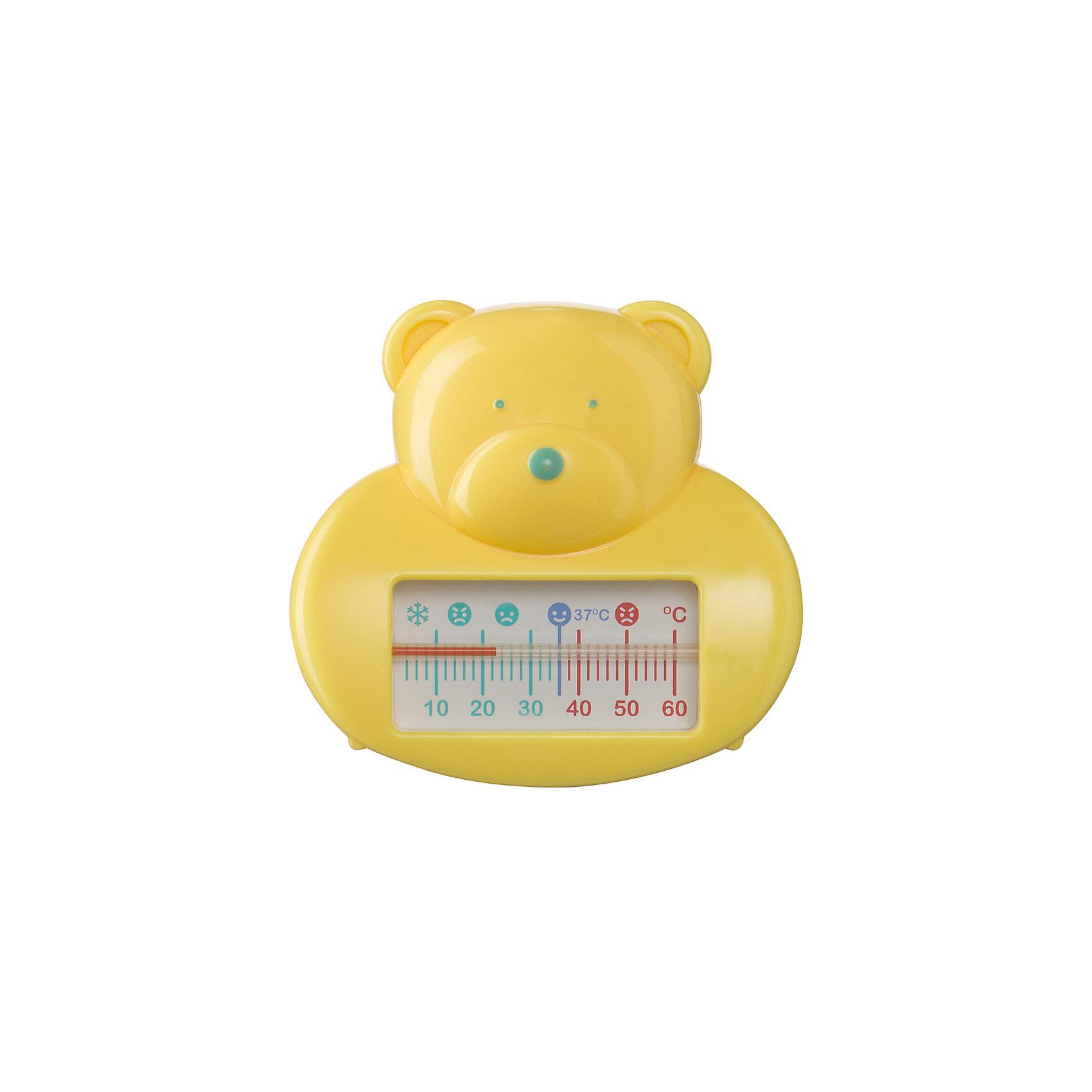 Термометр для воды, Happy Baby, желтыйТермометры<br>Для ухода за каждым малышом с момента его рождения требуются специальные  предметы. На помощь родителям придут разработанные профессионалами приспособления. Термометр для воды от Happy Baby (Хэпи Бэби) позволит правильно ухаживать за малышом каждый день.<br>Мамы знают, как тяжело найти предметы для ухода за малышом, подходящие для самых маленьких. Этот термометр для воды для многих спасением! Он отличается забавной формой - медвежонок - благодаря которой купание можно превратить в игру или отвлечь внимание малыша. На шкале есть отметки для определения оптимальной температуры воды. Сделан он из высококачественных и безопасных для малышей материалов.<br><br>Дополнительная информация:<br><br>цвет: желтый;<br>форма - мишка;<br>поможет определить оптимальную температуру воды.<br><br>Термометр для воды, Happy Baby (Хэпи Бэби), желтый, можно купить в нашем магазине.<br><br>Ширина мм: 50<br>Глубина мм: 150<br>Высота мм: 150<br>Вес г: 58<br>Возраст от месяцев: 0<br>Возраст до месяцев: 36<br>Пол: Унисекс<br>Возраст: Детский<br>SKU: 4695021