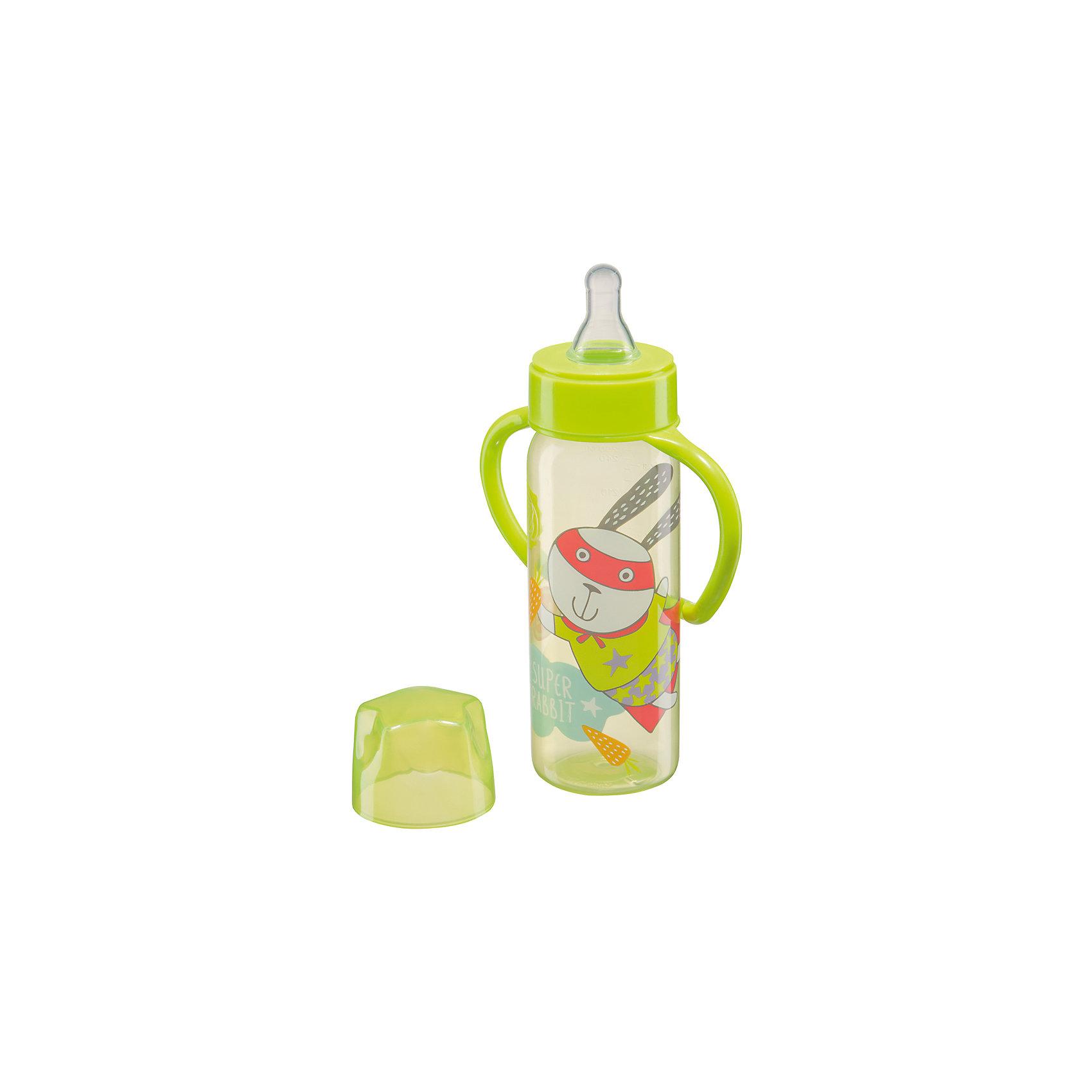 Бутылочка для кормления с ручками, 250 мл, Happy Baby, лаймБутылочка 250 мл,  Happy Baby лайм имеет классическую форму с ручками, благодаря которым малыш научится самостоятельно пить из бутылочки и быстрее привыкнет к чашке. Сделана из прозрачного ударопрочного пластика, устойчивого к прогреванию. Широкое горлышко поильника позволяет легко заполнять его и чистить, а мерная шкала поильника позволяет контролировать количество жидкости, выпитой ребенком.<br><br>Дополнительная информация:<br><br>- эргономичные ручки<br>- герметичная крышка<br>- ручки легко снимаются<br>- шкала с делениями в 30 мл.<br>- медленный поток<br>- материал: полипропилен, силикон<br>- материал: соски : силикон<br>- объем бутылочки: 250 мл.<br><br>Бутылочку для кормления с ручками, 250 мл, Happy Baby, лайм можно купить в нашем интернет-магазине.<br><br>Ширина мм: 65<br>Глубина мм: 120<br>Высота мм: 275<br>Вес г: 75<br>Возраст от месяцев: 0<br>Возраст до месяцев: 12<br>Пол: Унисекс<br>Возраст: Детский<br>SKU: 4696781