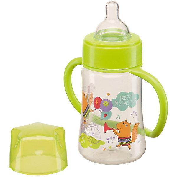 Бутылочка для кормления с ручками, 250 мл, Happy Baby, лайм210 - 281 мл.<br>Бутылочка 250 мл,  Happy Baby лайм имеет классическую форму с ручками, благодаря им малыш научится самостоятельно пить из бутылочки и быстрее привыкнет к чашке. Сделана из прозрачного ударопрочного пластика, устойчивого к прогреванию. Широкое горлышко поильника позволяет легко заполнять его и чистить, а мерная шкала поильника позволяет контролировать количество жидкости, выпитой ребенком.<br><br>Дополнительная информация:<br><br>- эргономичные ручки<br>- герметичная крышка<br>- ручки легко снимаются<br>- шкала с делениями в 30 мл.<br>- медленный поток<br>- материал: полипропилен, силикон<br>- материал: соски: силикон<br>- объем бутылочки: 250 мл.<br><br>Бутылочку для кормления с ручками, 250 мл, Happy Baby, лайм  можно купить в нашем интернет-магазине.<br><br>Ширина мм: 75<br>Глубина мм: 135<br>Высота мм: 230<br>Вес г: 93<br>Возраст от месяцев: 0<br>Возраст до месяцев: 12<br>Пол: Унисекс<br>Возраст: Детский<br>SKU: 4696784