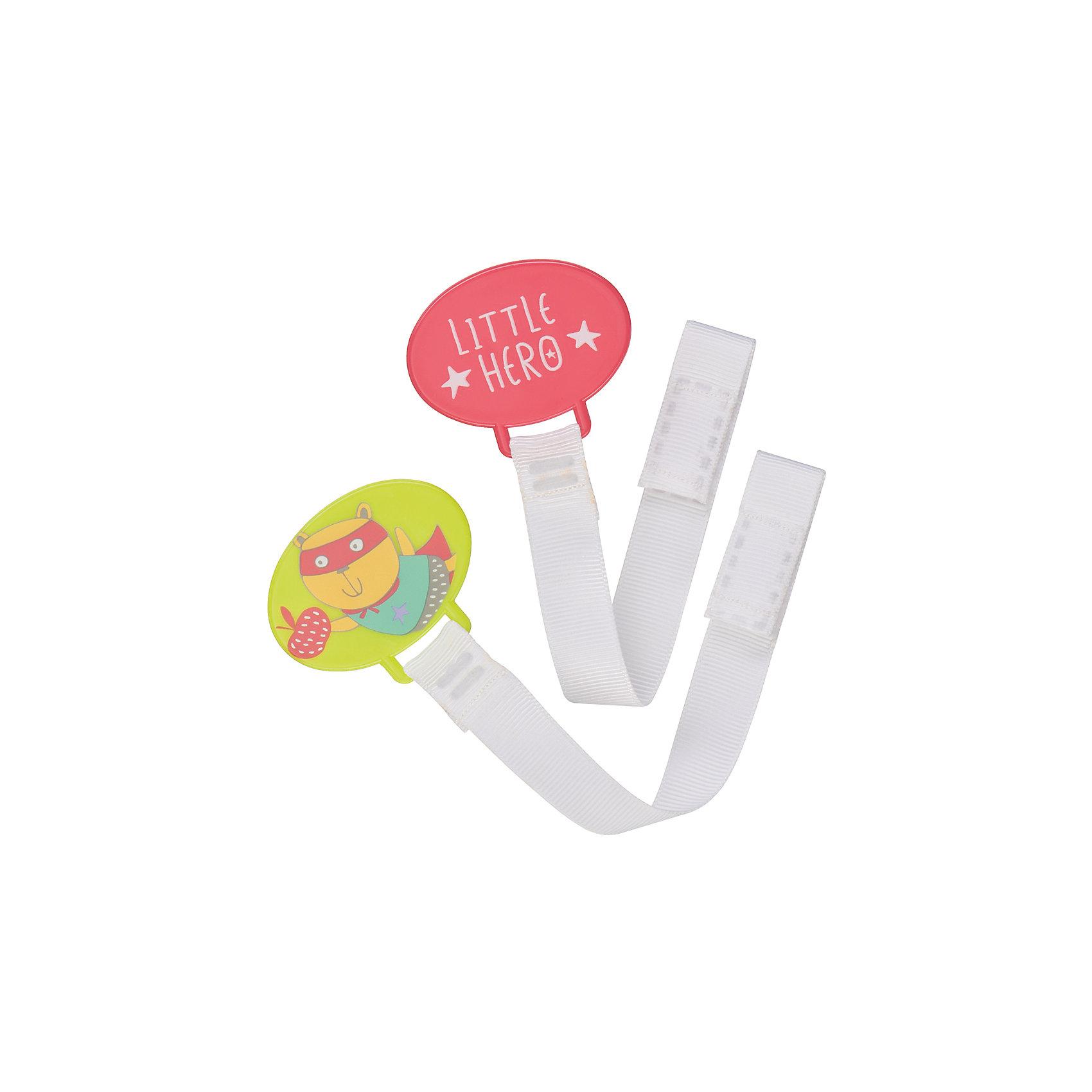 Набор держателей для пустышки HOLDER X2, Happy BabyПустышки и аксессуары<br>Набор держателей для пустышки HOLDER X2, Happy Baby можно использовать как для пустышки, так и для прорезывателя. Благодаря надежному креплению Вы можете быть уверены в том, что пустышка или прорезыватель не потеряются и всегда будут чистыми. Удобно брать с собой.<br>В наборе 2 штуки.<br><br>Дополнительна информация:<br><br>- материал: полипропилен, нейлон.<br>- упаковка:  блистер<br>- прочное крепление<br>- можно использовать для пустышки и прорезывателя <br>- удобно брать с собой<br><br>Набор держателей для пустышки HOLDER X2, Happy Baby можно купить в нашем интернет-магазине.<br><br>Ширина мм: 20<br>Глубина мм: 120<br>Высота мм: 180<br>Вес г: 26<br>Возраст от месяцев: 0<br>Возраст до месяцев: 12<br>Пол: Унисекс<br>Возраст: Детский<br>SKU: 4696792