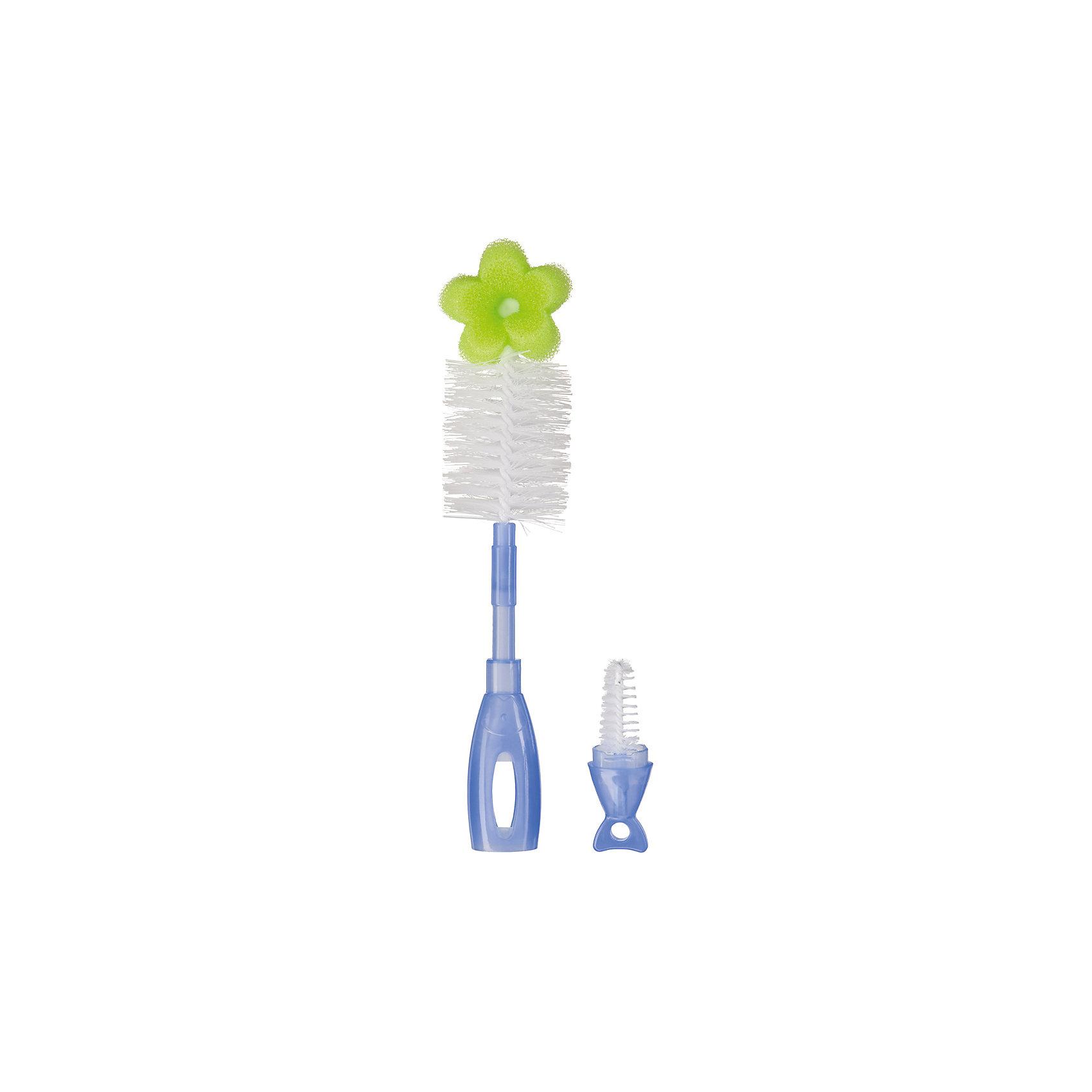 Ёршик 2 в 1 для бутылочек и сосок DOUBLE CLEAN, Happy Baby, лаймАксессуары для бутылочек и поильников<br>Удобная конструкция ёршика DOUBLE CLEAN: Happy Baby, лайм в ручке большого ёршика хранится маленький. Тщательная чистка сосок и детских бутылочек благодаря удобной конфигурации, прочной щетине и высококачественной губке. Удобная, функциональная ручка.<br><br>Дополнительна информация:<br><br>- ёршик для сосок находится в ручке ёршика для бутылочек;<br>- губка и щетина эффективно удаляют все загрязнения;<br>- удобная ручка с отверстием для подвешивания;<br>- прочная щетина.<br>- материал: полипропилен, нейлон, сталь, поролон<br><br>Ёршик 2 в 1 для бутылочек и сосок DOUBLE CLEAN, Happy Baby, лайм можно купить в нашем интернет-магазине<br><br>Ширина мм: 45<br>Глубина мм: 120<br>Высота мм: 370<br>Вес г: 46<br>Возраст от месяцев: 0<br>Возраст до месяцев: 12<br>Пол: Унисекс<br>Возраст: Детский<br>SKU: 4696793