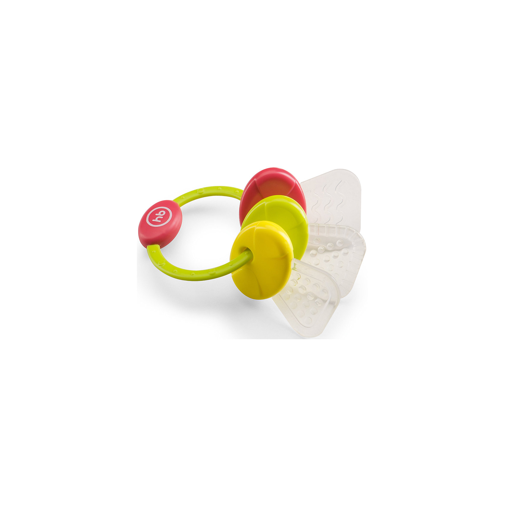 Прорезыватель с 4 мес., Happy Baby, красныйПогремушка-прорезыватель Happy Baby имеет удобную форму и разнофактурную поверхность, которая эффективно массирует десны ребенка, проникает в труднодоступные места ротовой полости и уменьшает дискомфорт при появлении зубов. Подвижные детали имеют удобную форму для ручек ребёнка. Погремушка-прорезыватель способствует развитию слуха, концентрации внимания, мелкой моторики и цветового восприятия. Не содержит Бисфенол-А.<br><br>Дополнительная информация: <br><br>- возраст: с 4 месяцев<br>- материал: полипропилен, силикон<br><br>Прорезыватель с 4 мес., Happy Baby, красный можно купить в нашем интернет-магазине.<br><br>Ширина мм: 60<br>Глубина мм: 110<br>Высота мм: 150<br>Вес г: 106<br>Возраст от месяцев: 4<br>Возраст до месяцев: 9<br>Пол: Унисекс<br>Возраст: Детский<br>SKU: 4696853