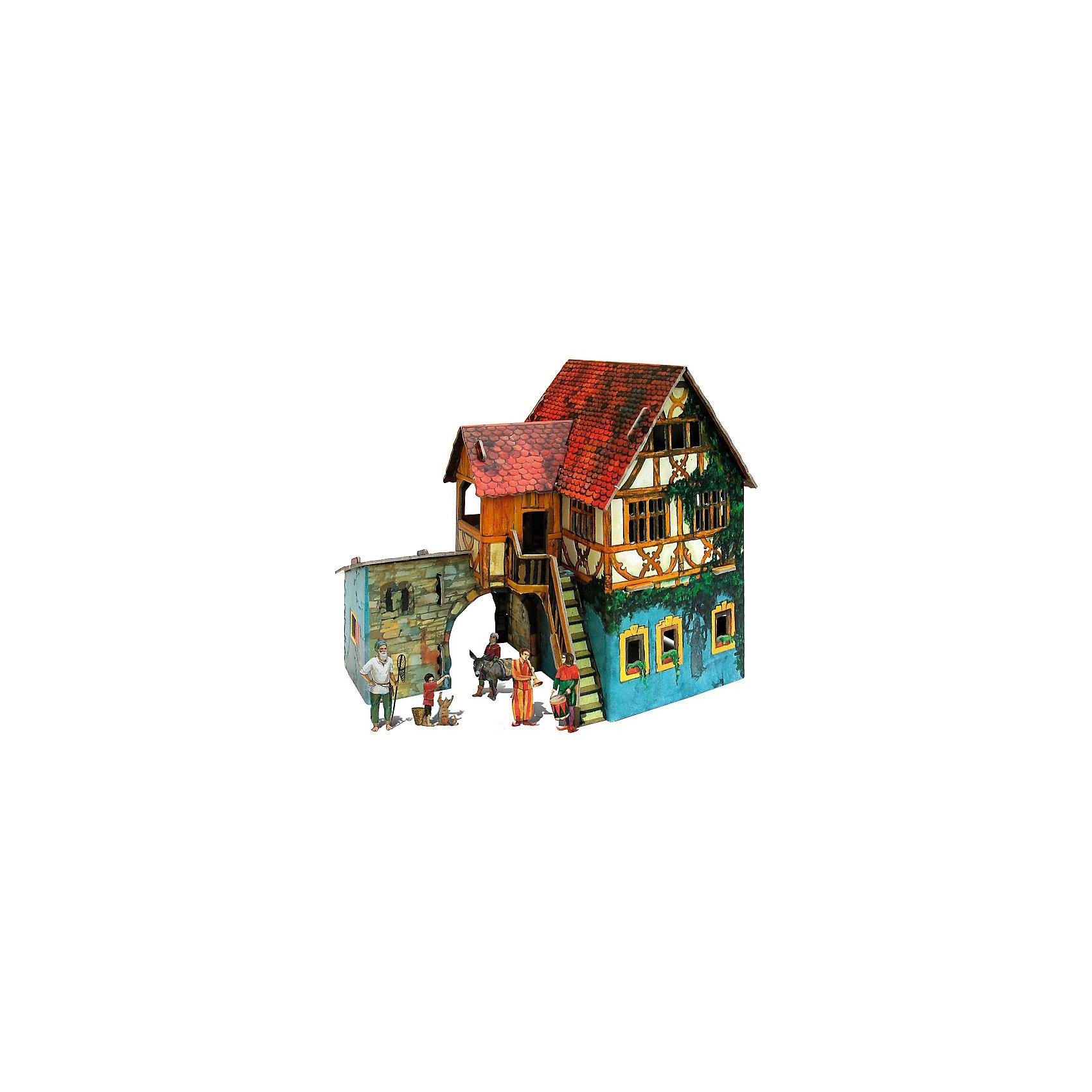 Умная Бумага Сборная модель Дом с кораблем