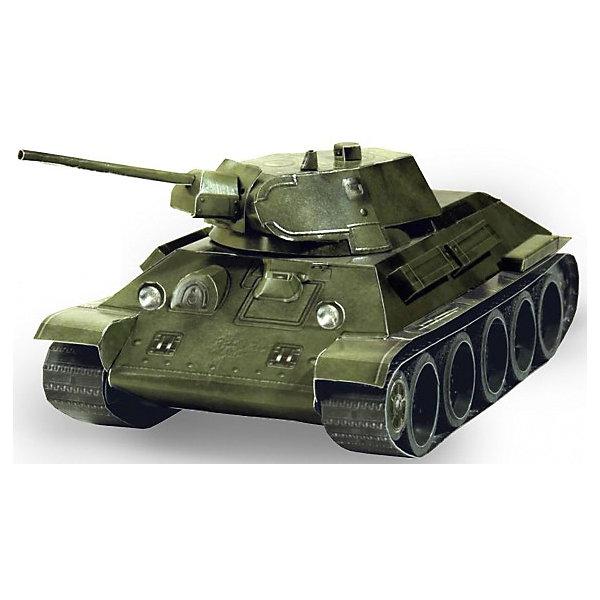 Сборная модель Танк Т-34 обр. 1941 г. (зеленый)