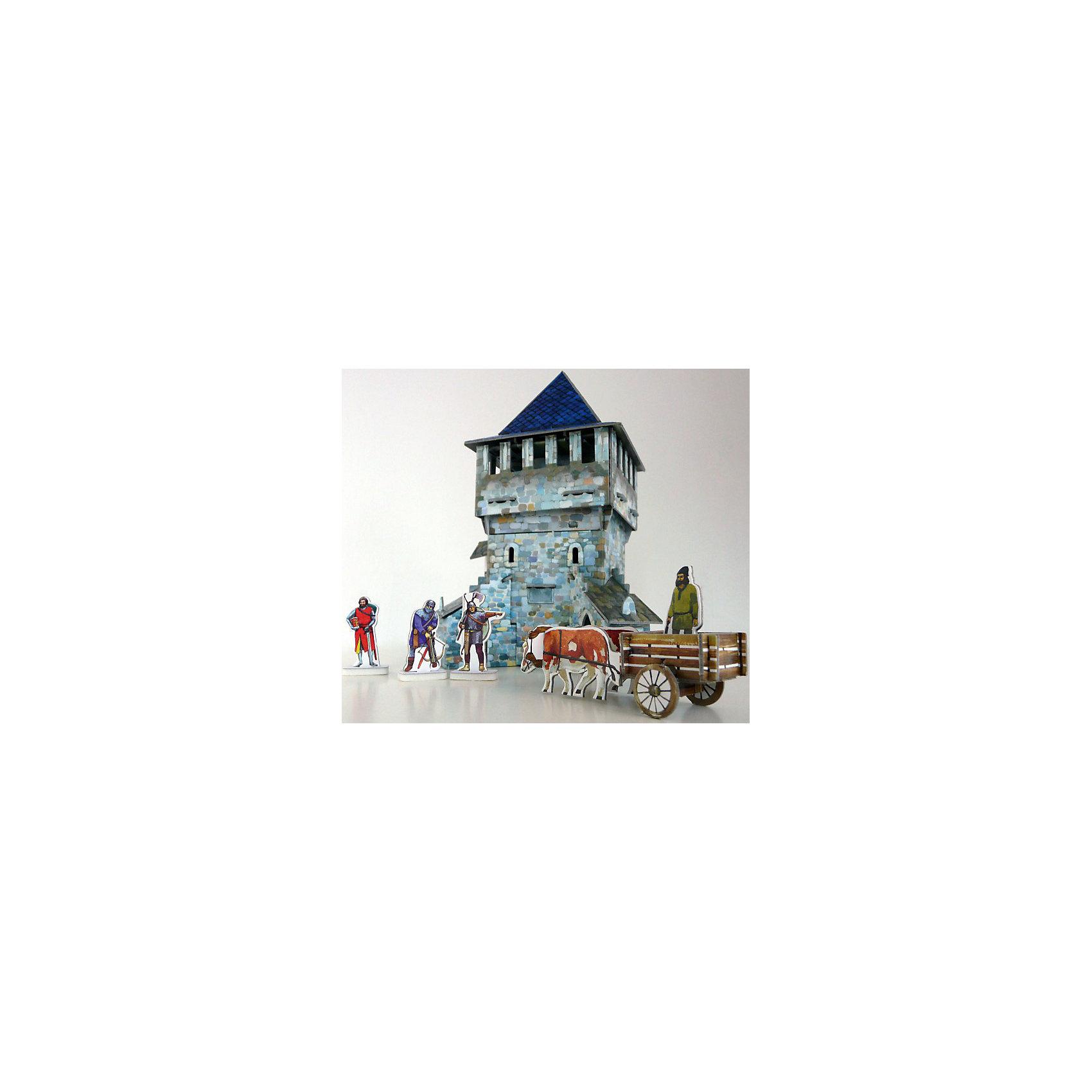 Умная Бумага Сборная модель Верхняя башня