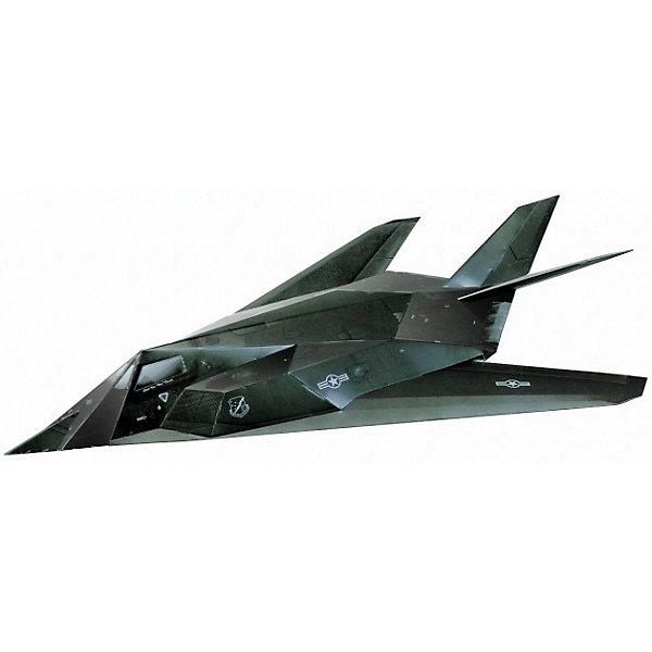 Сборная модель Малозаметный ударный самолет F-117Модели из бумаги<br>Набор Малозаметный ударный самолет F-117 позволит создать боевой самолет, выполненный из картона в масштабе 1:72. Высокая степень детализации и реалистичные детали делают сборку конструктора очень интересным занятием. Принцип соединения деталей запатентован: все соединения разработаны и рассчитаны с такой точностью, что с правильно собранной игрушкой можно играть, как с обычной. Конструирование увлекательный и полезный процесс, развивающий мелкую моторику, внимание, усидчивость, пространственное мышление и фантазию. <br>Все сборные модели «Умная Бумага» разрабатываются на основе чертежей и фотографий оригинала. В их оформлении широко используются современные способы обработки бумаги для передачи рельефности поверхности, а для имитации хромированных и золоченых элементов применяется тиснение фольгой.<br><br>Дополнительная информация:<br><br>- Материал: картон.<br>- 20 деталей. <br>- Масштаб: 1:72.<br>- Размер упаковки: 22х34 см.<br><br>Сборную модель Малозаметный ударный самолет F-117 можно купить в нашем магазине.<br>Ширина мм: 214; Глубина мм: 337; Высота мм: 3; Вес г: 130; Возраст от месяцев: 72; Возраст до месяцев: 168; Пол: Мужской; Возраст: Детский; SKU: 4697733;