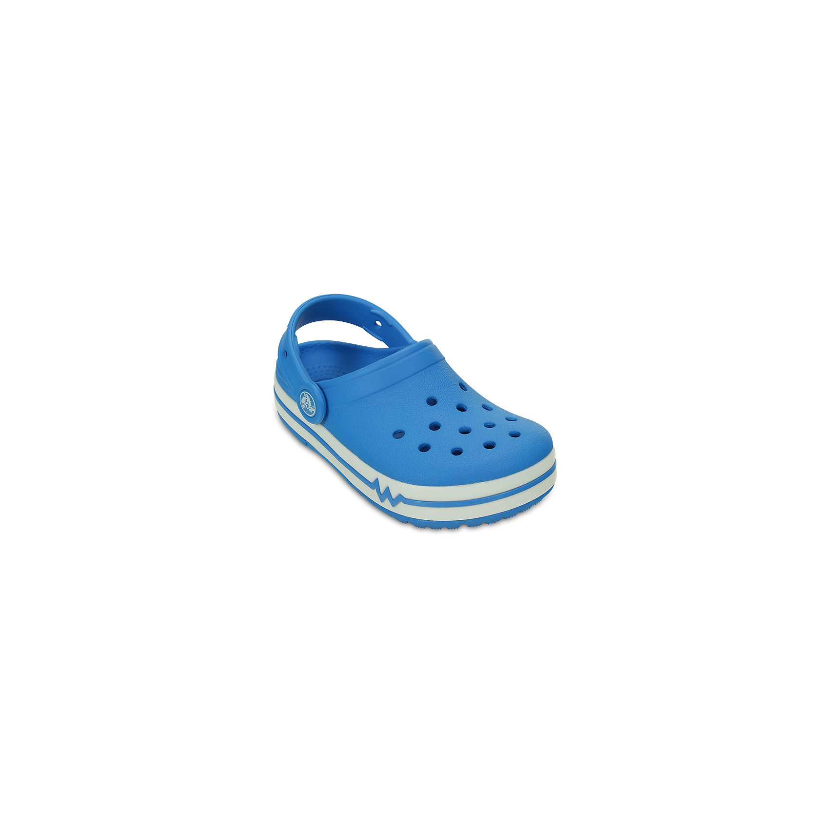 crocs Сабо со светодиодами Lights Clog PS для мальчикаCrocs  crocs crocslights butterfly ps clog toddler little kid